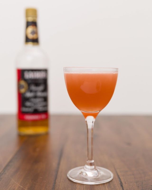 What's in a name? That which we call a Jack Rose by any other name would taste as sweet. ⠀ ⠀ Alright, enough Shakespeare. The Jack Rose is a simple and tasty cocktail made with apple brandy. I like to use the Laird's bonded apple brandy (gotta love that it's 100 proof). Apple brandy, lemon juice, and grenadine aren't star crossed lovers, they're a match made in heaven. ⠀ ⠀  #cocktail #cocktails #booze #drink #drinks #drinkdrankdrunk #drank #drunk #alcohol #mixology #cocktailbar #bartender #bar #bars #bartenders #food #tasty #liquor #thirsty #pub #cheers #happyhour #cocktailparty #brandy #applebrandy #grenadine #lemon #shakespeare
