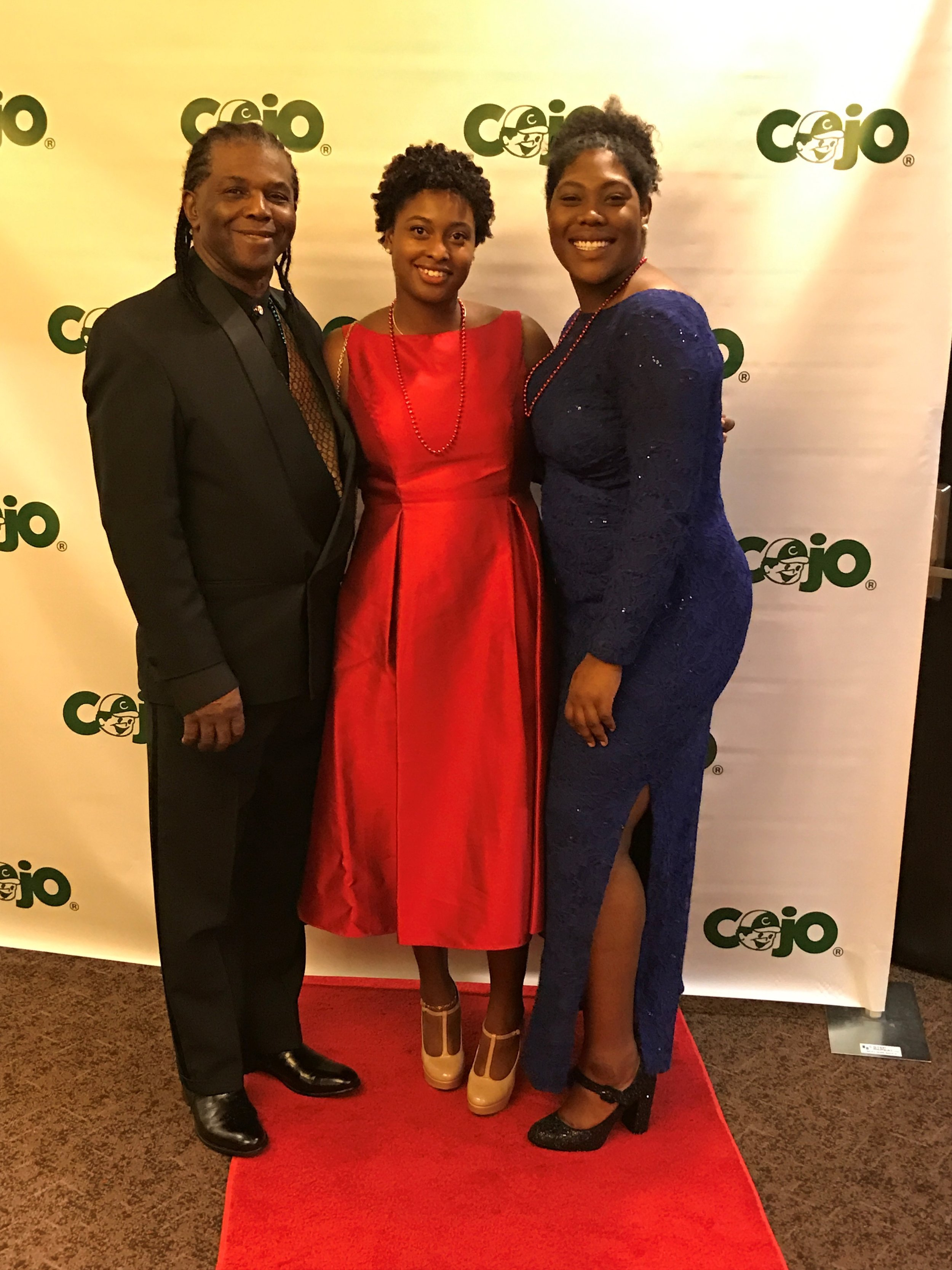 Trevor Smith (Tower Isles' CFO), Kyla Bynum (Tower Isles' Marketing Manager), and fellow COJO supporter..