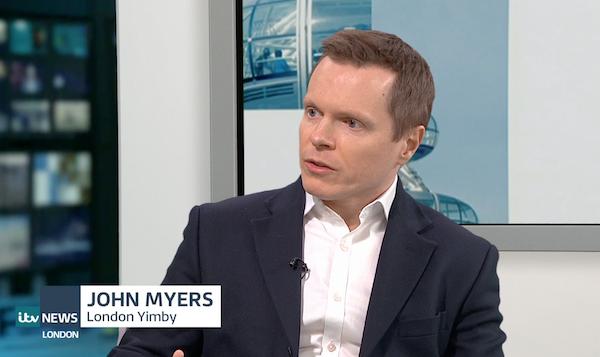 ITV London news screenshot