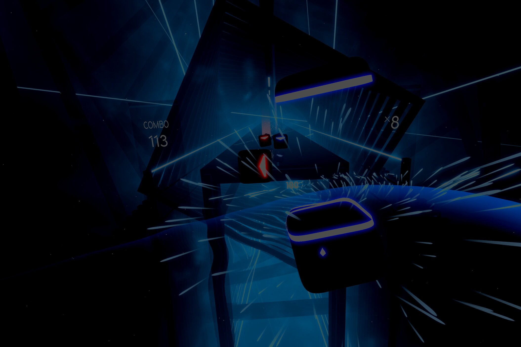 Beat Saber - Enter this revolutionary rhythm/dance/sword game and slice the music as it flies at you.