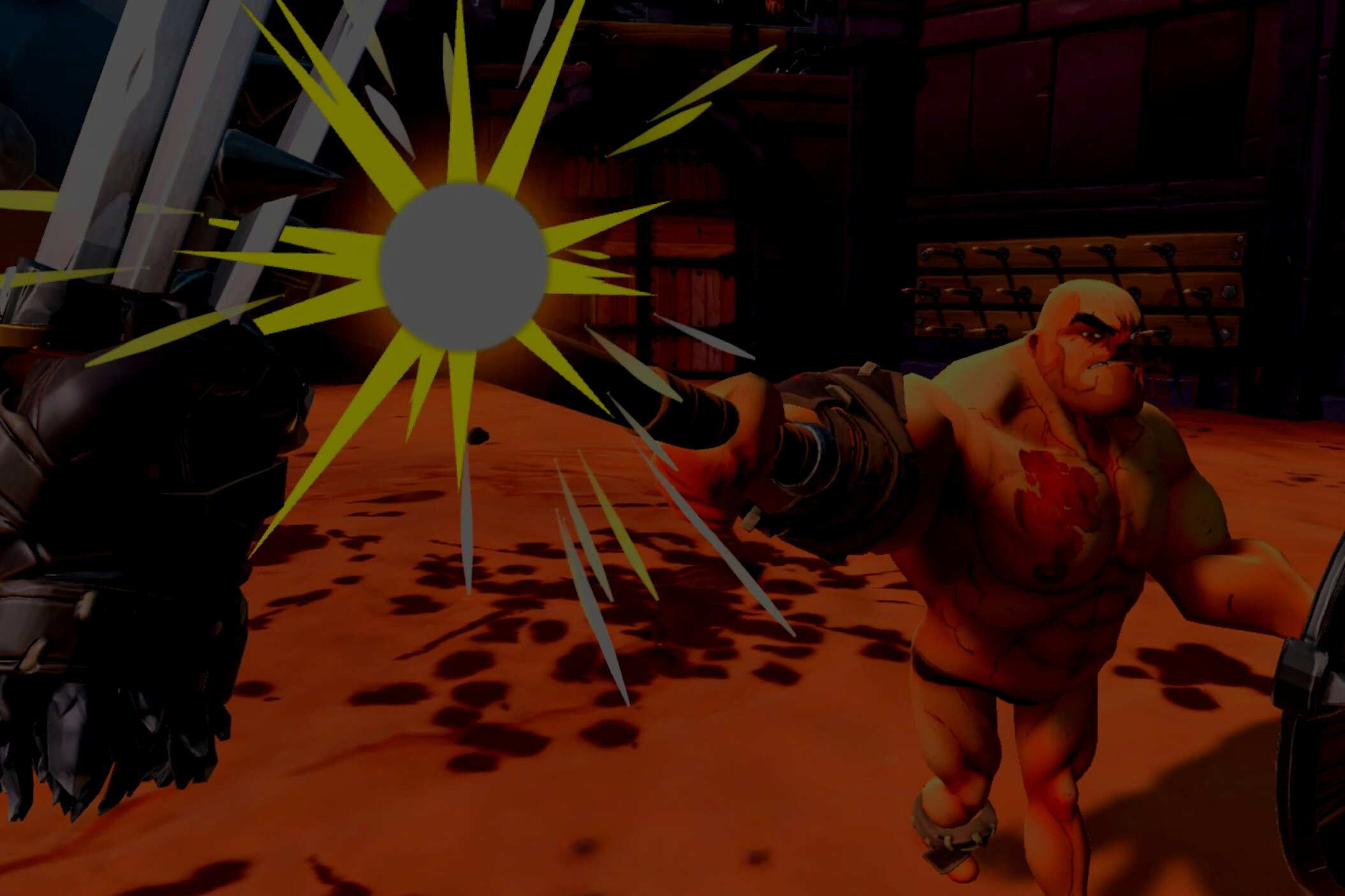 Gorn - Battle cartoon gladiators in this intensely comical and brutally brutal arena fight to the death!