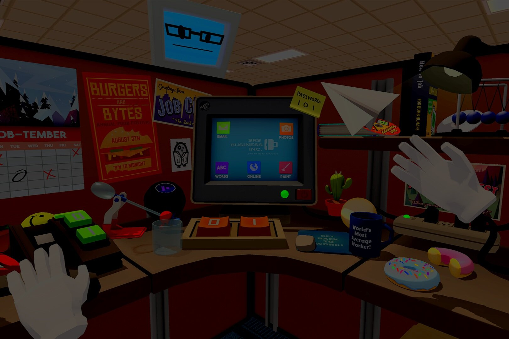 Job Simulator - The normal office rules have gone out the window in this hilarious working simulation.