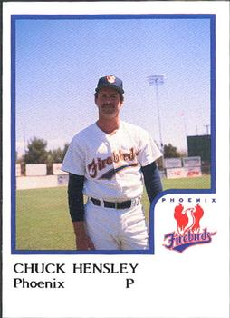Chuck Hensley - Phoenix Firebirds (1986)