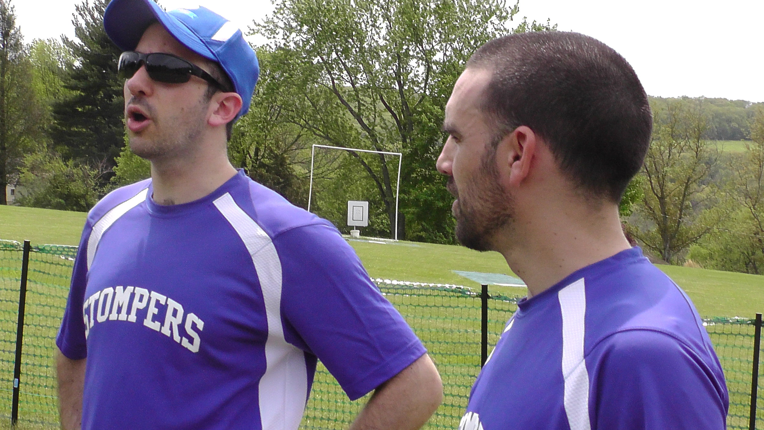 Dan Isenberg and Nick Schaefer chat in between games at a recent tournament.