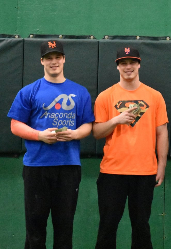 Left to Right: Ryan and Tim McElrath after winning the 2018 MAW Winter Classic in February.