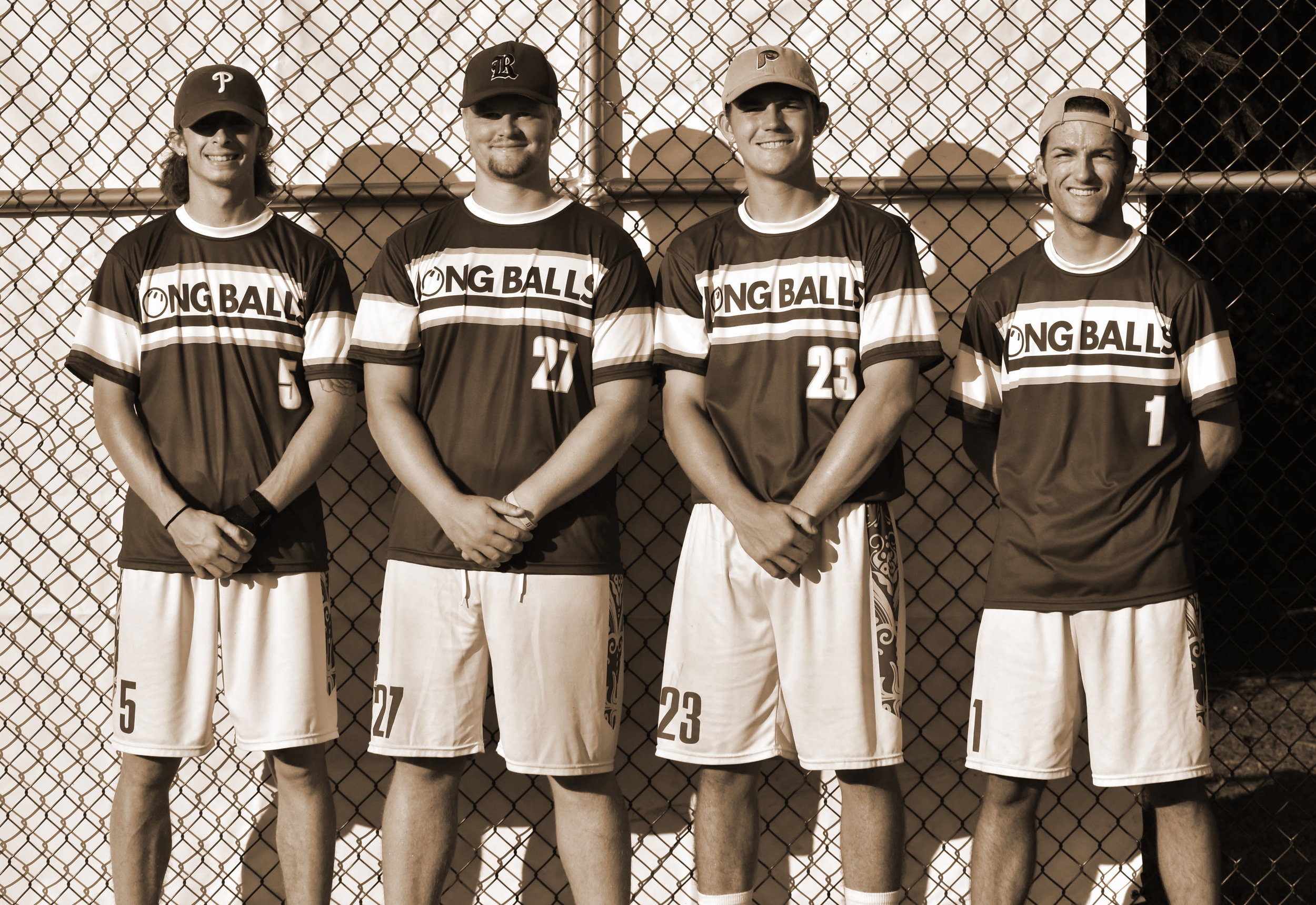 L:R - Tyler Nachbar, Sean Bingnear, Colin Pollag, Dylan Harshaw (August 4, 2018)