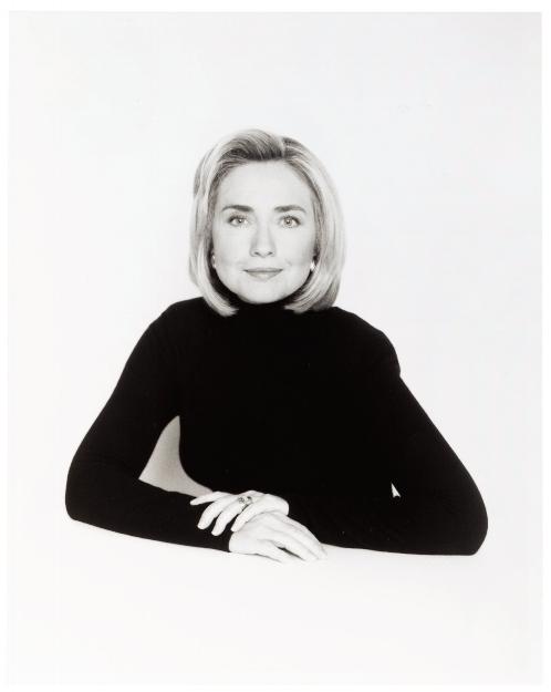 David Seidner [Hillary Clinton], 1996 © International Center of Photography, David Seidner Archive