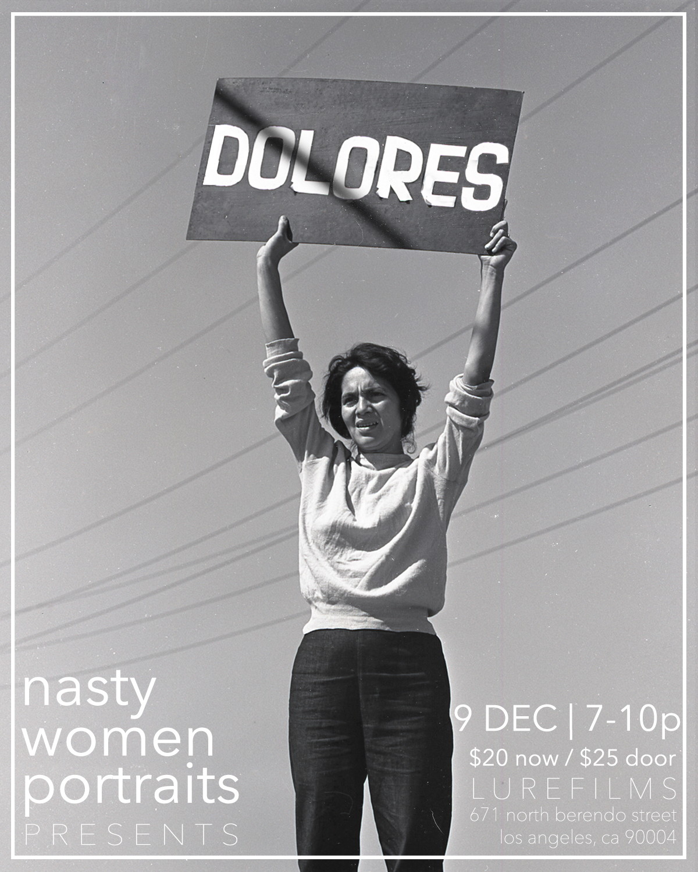 September 24, 1965, Delano, CA, Grape Strike, Dolores Huerta. Photo by Harvey Richards. Copyright Harvey Richards Media Archive
