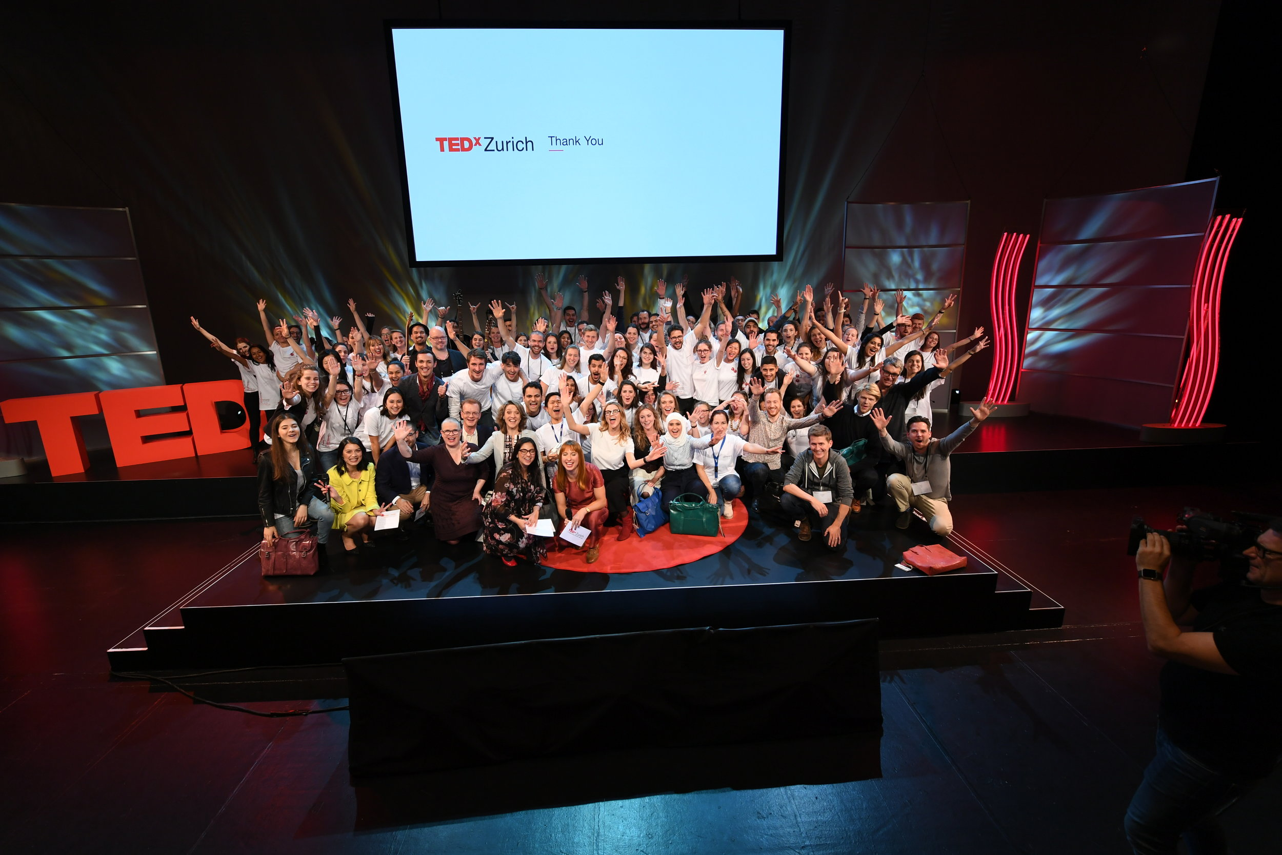 Thank you to all the great speakers and amazing TEDxZurich volunteers and team members who put this together in their free time! Photo: Boris Baldinger