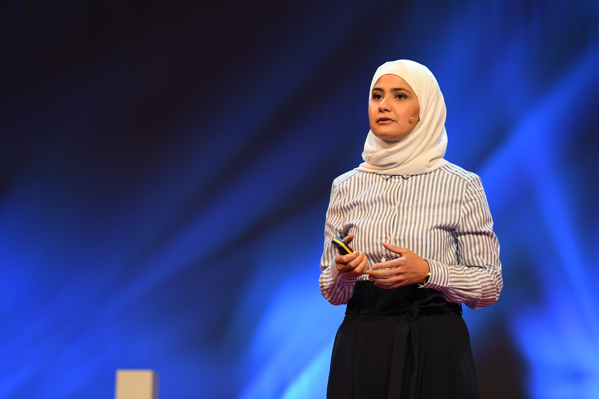 Rima Alaifari (30) is the youngest math professor at ETH Zurich. She talked about how people label people.