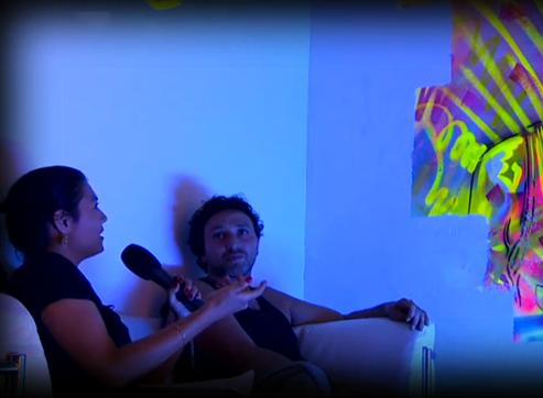 Interviewing artist Charles Guémy aka C215.