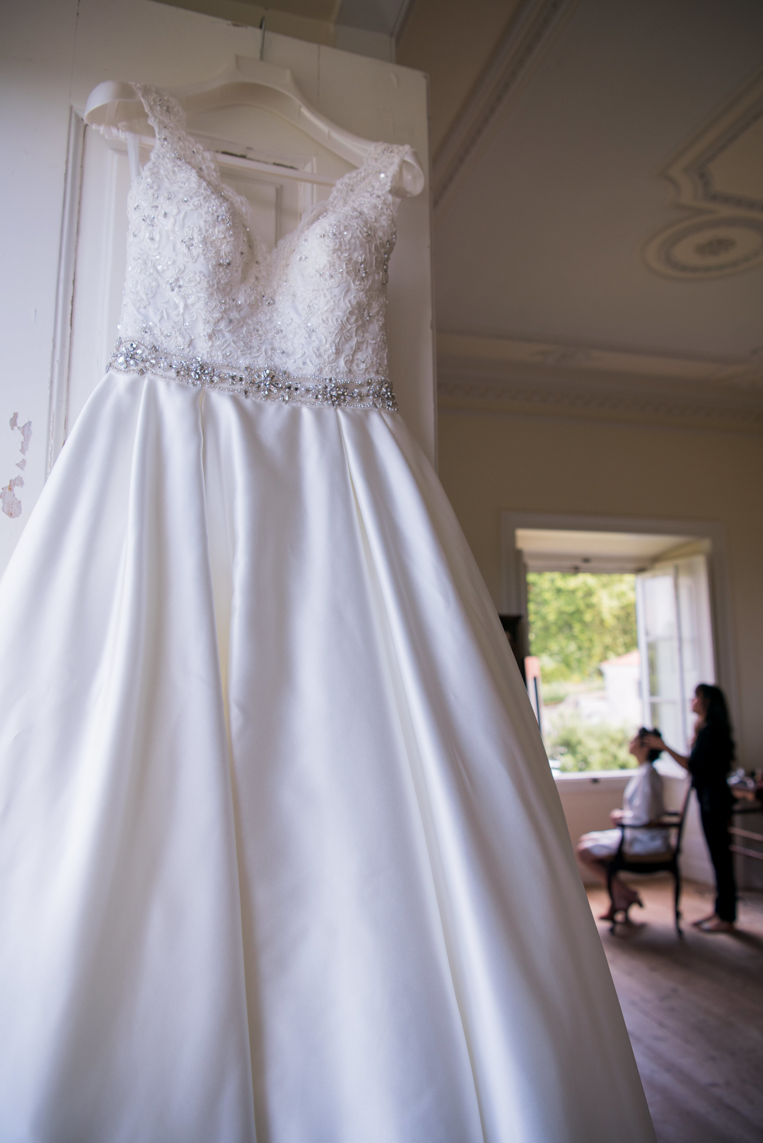 The wedding dress (in case you like this one, I would sell mine - as I am not planing to use it again).