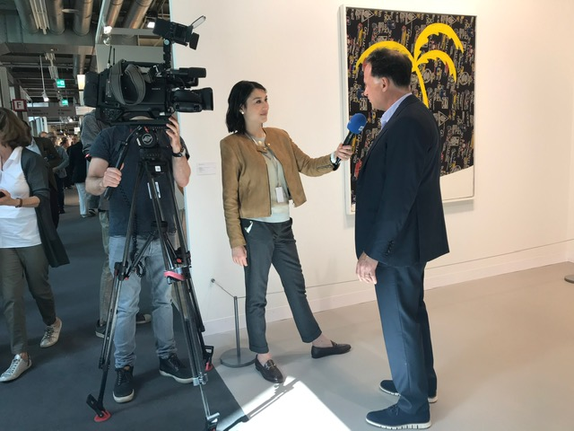David Leiber during the interview with CNNMoney Switzerland.