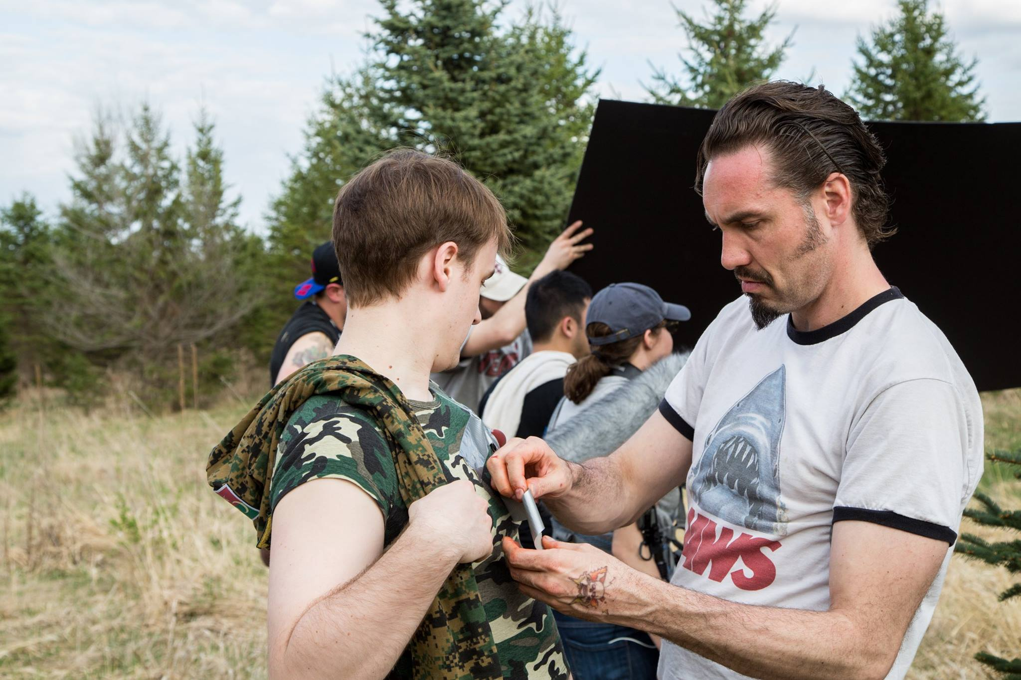 Ryan Schaddelee, Special Effects Coordinator