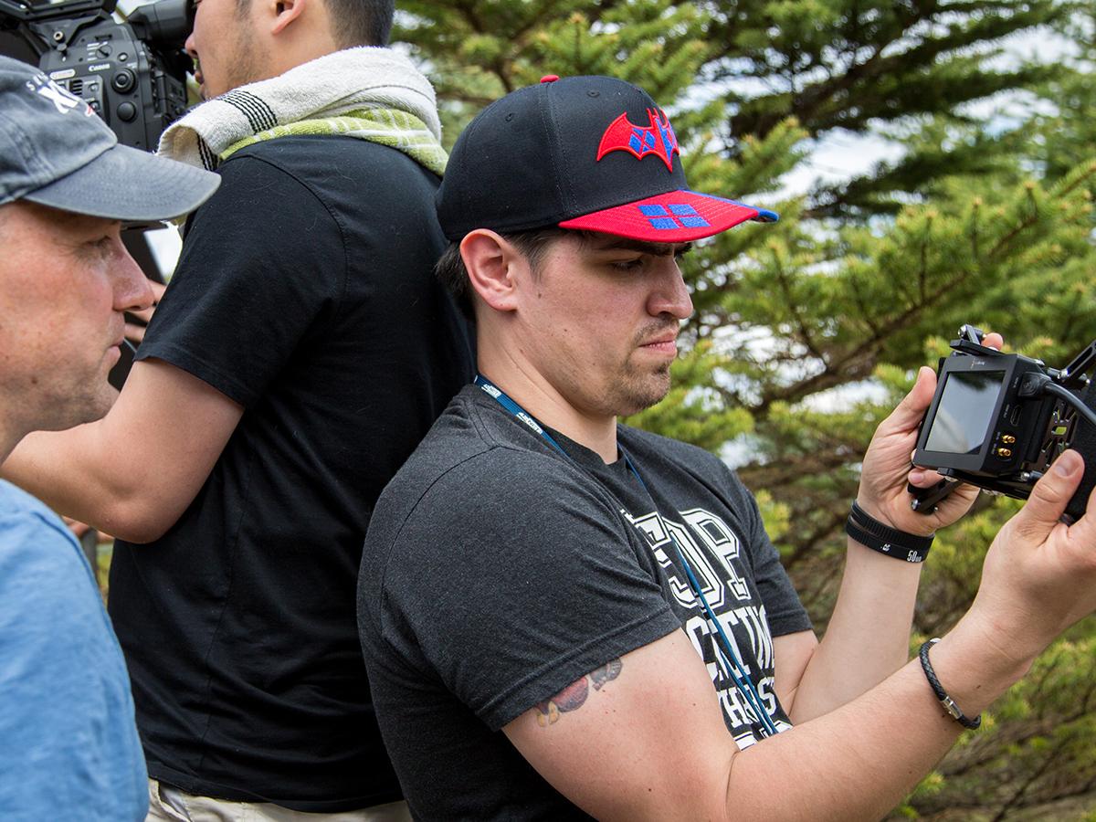 Steven Hoff, 1st Assistant Camera