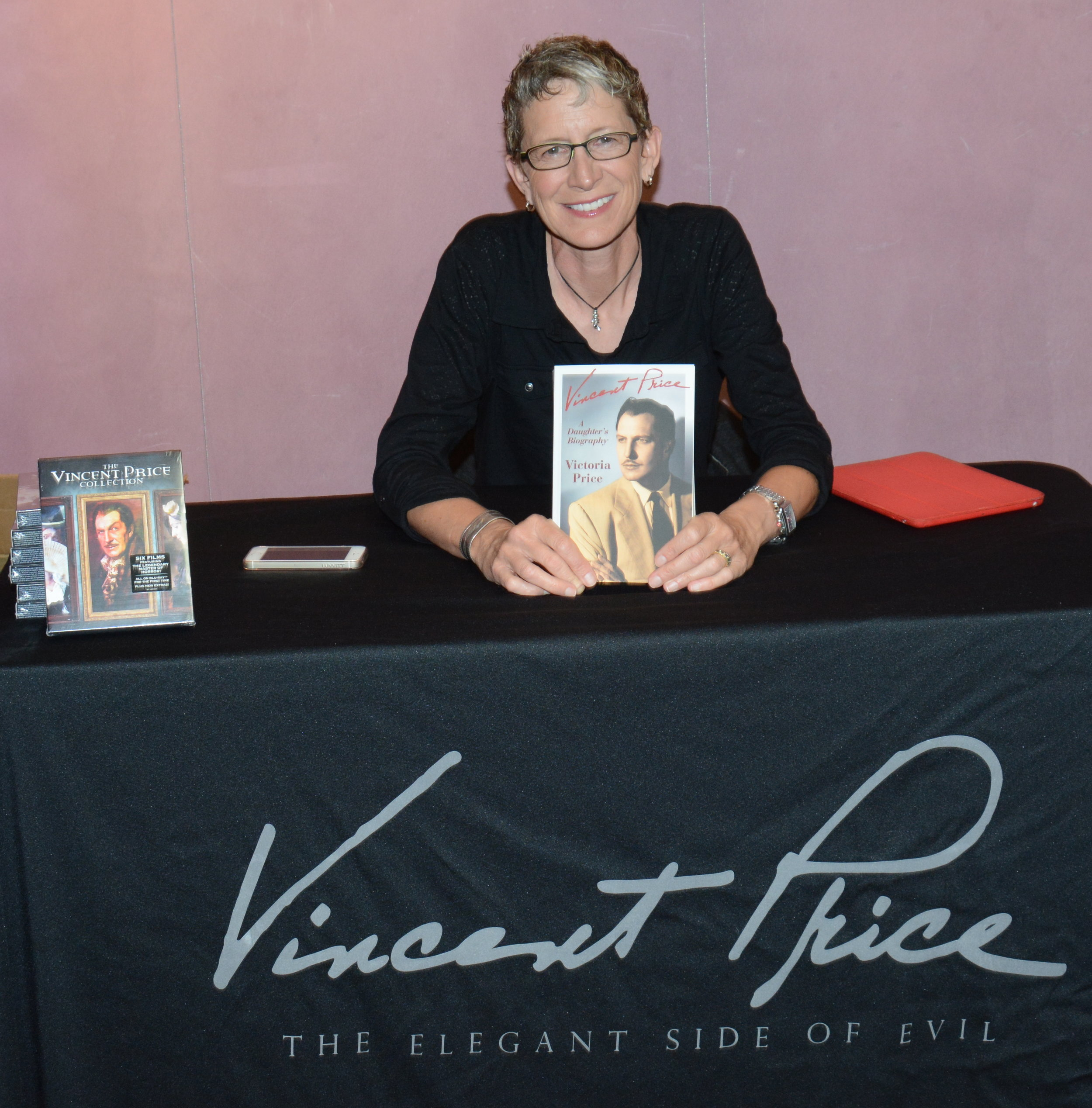 Vincent Price: A Daughter's Biography - Available on Amazon and Barnes & Noble & IndeBound as well as on vincentprice.com