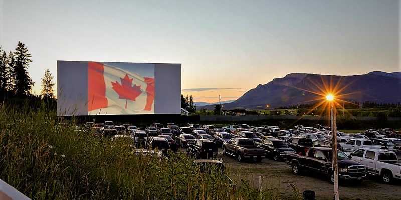 Photo Credit: Starlight Drive In Theatre, Enderby BC