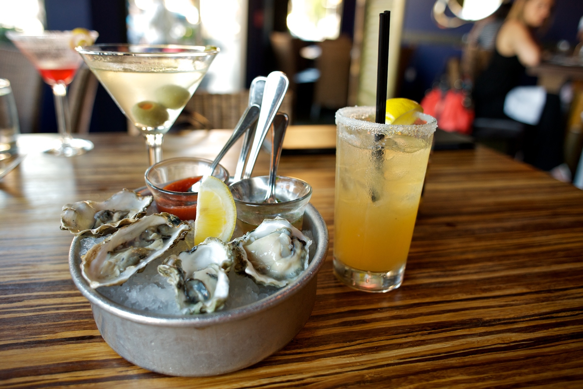 Oysters & Cocktails.
