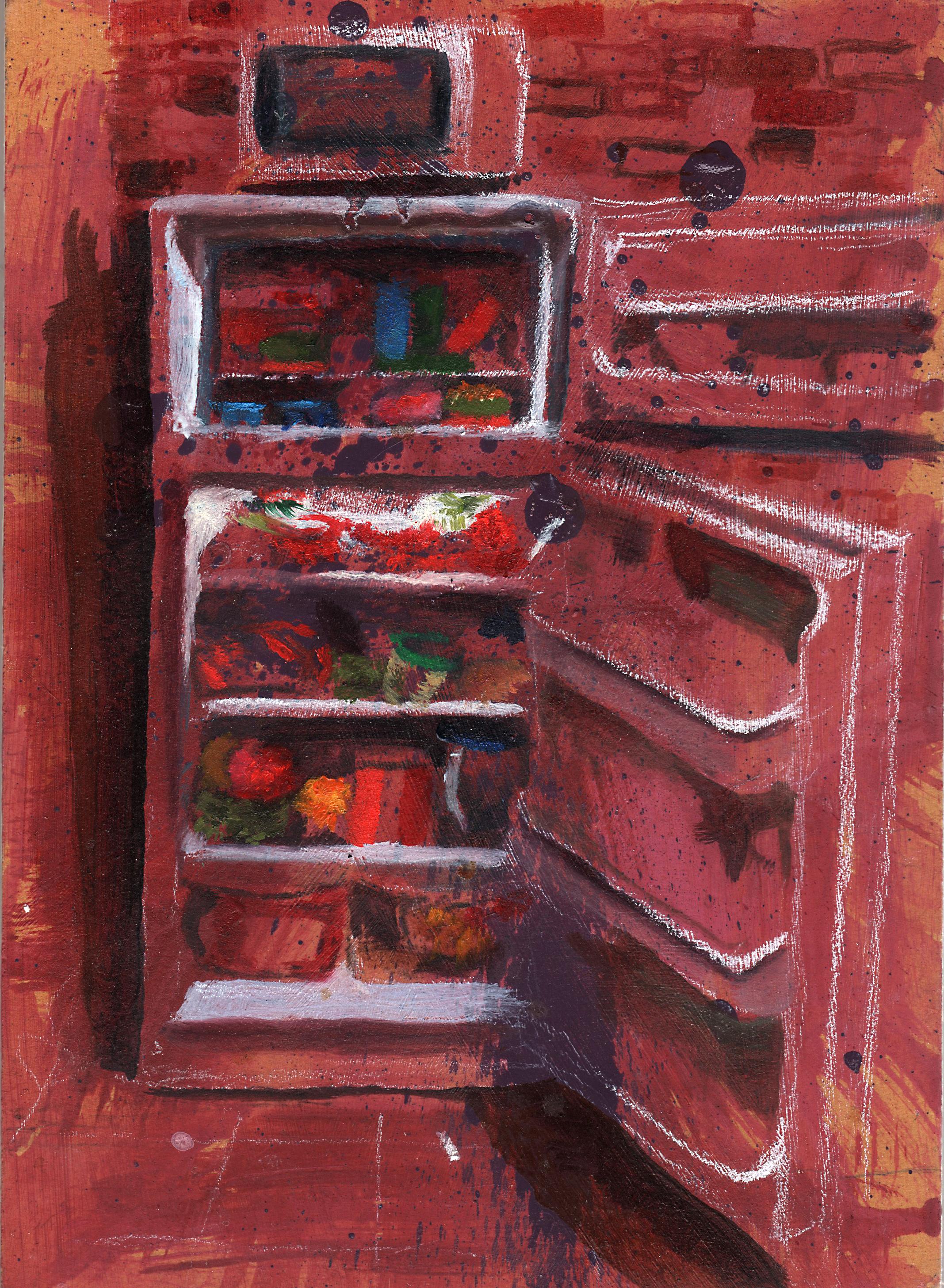 Old Refrigerator, New Food