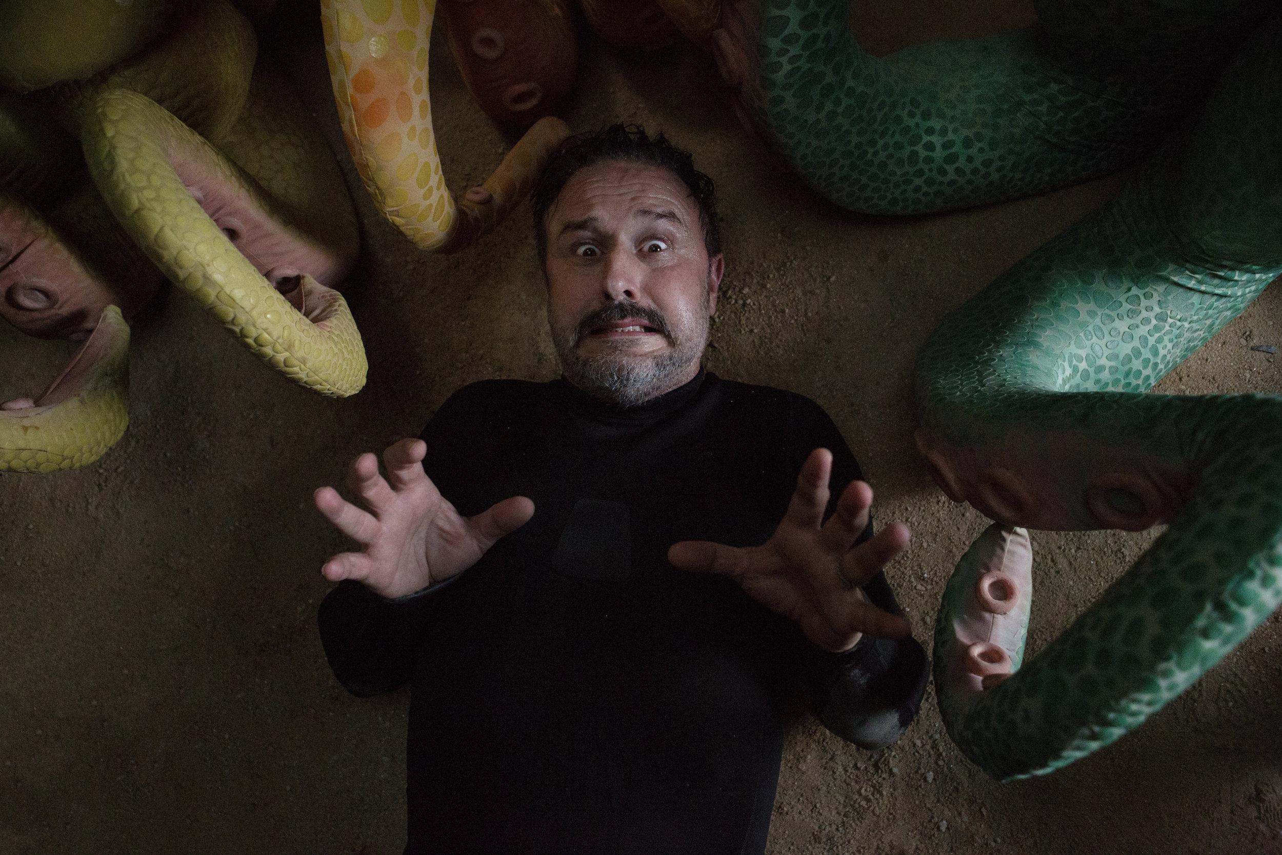 "David Arquette | ""Sigmund & The Sea Monsters"" | Krofft Pictures | Amazon Studios | Photo by Elizabeth Lippman"