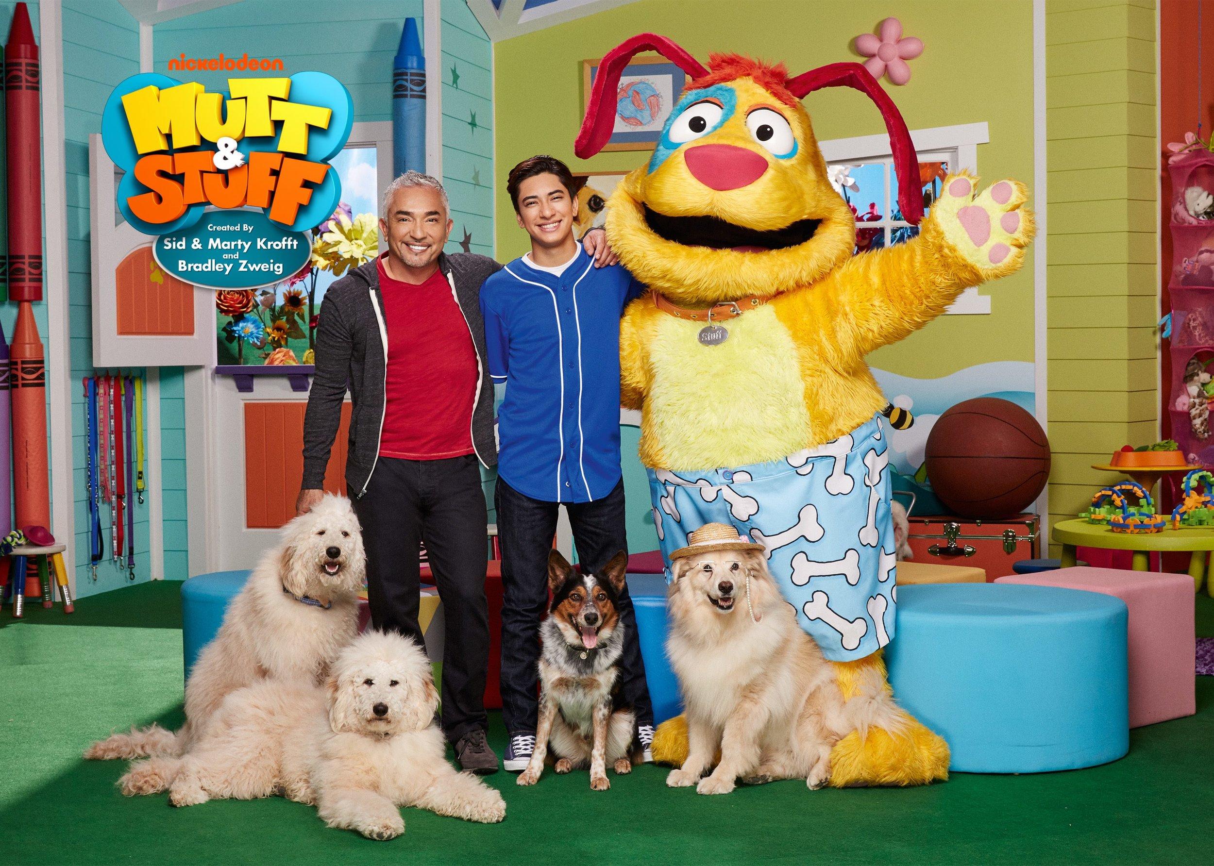 """Mutt & Stuff""   Krofft Pictures   Nickelodeon   Photo by Elizabeth Lippman"