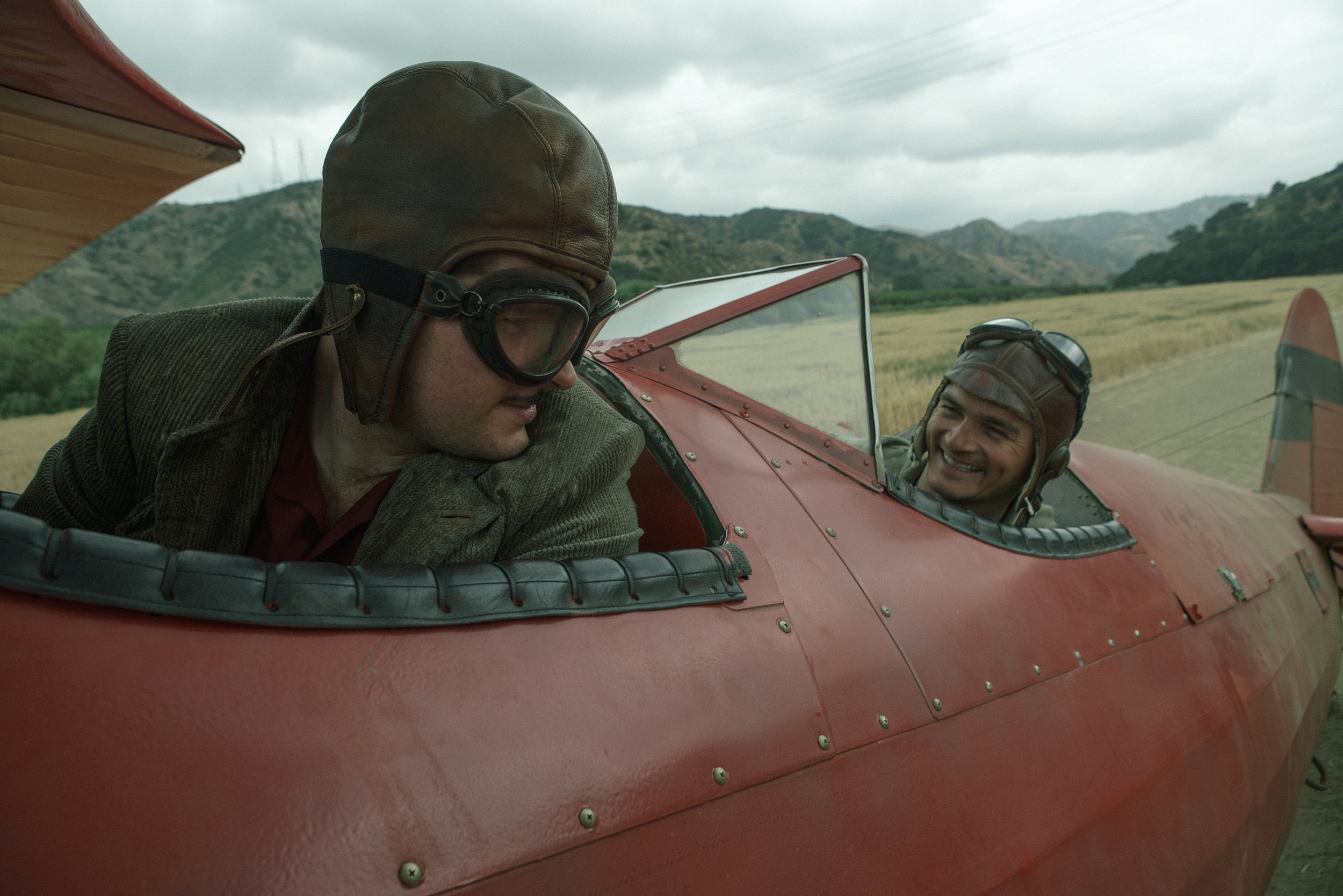 Jack and Ernest Airplane steal a crop duster   Strange Angel Season 01.jpg