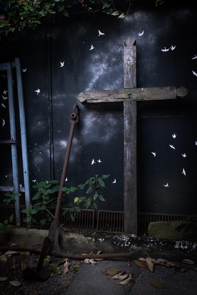 Crucifixo, Casa Aberta, Ilhabela-SP, 2015