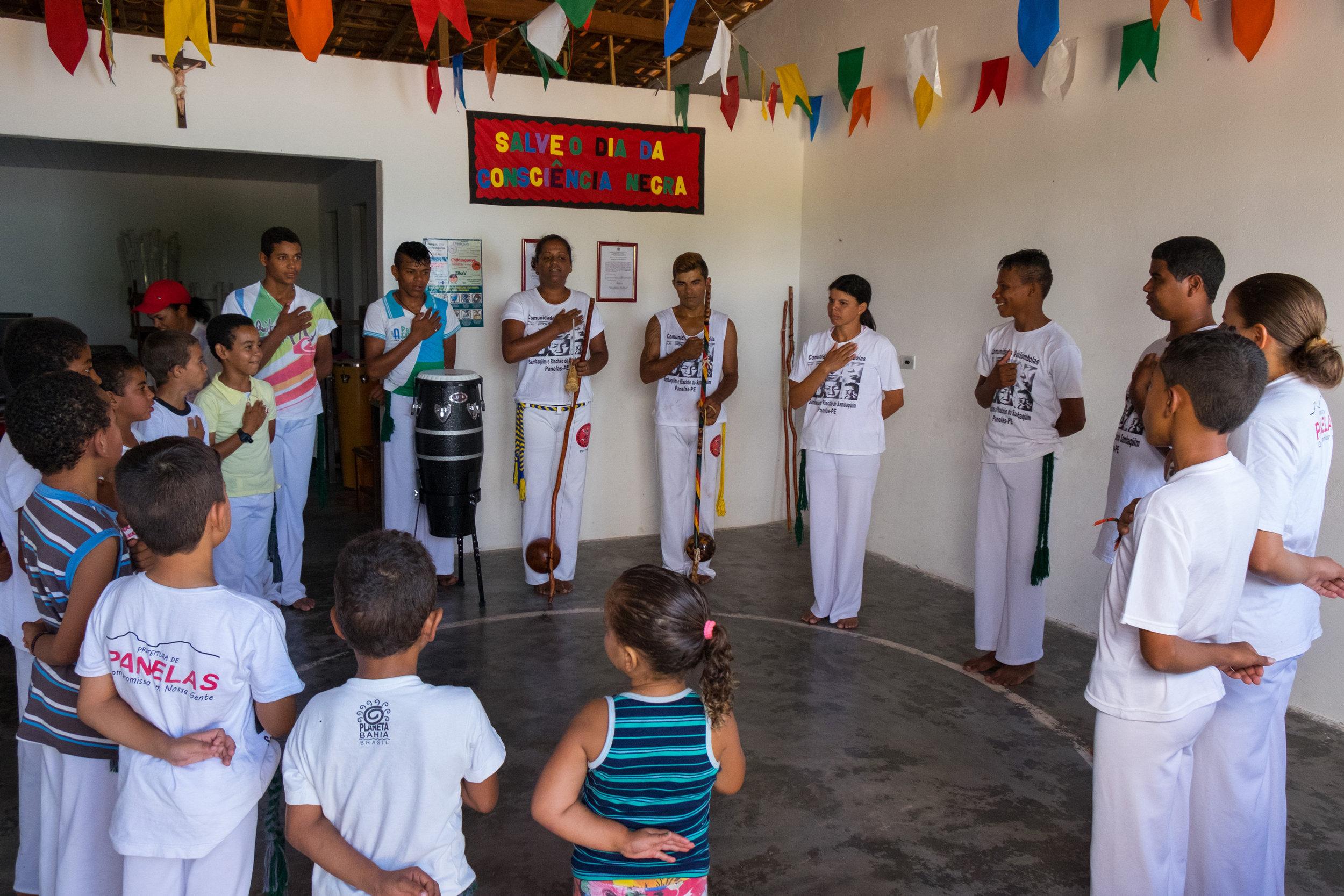 Início da Capoeira , Pau Ferro-PE, 2016
