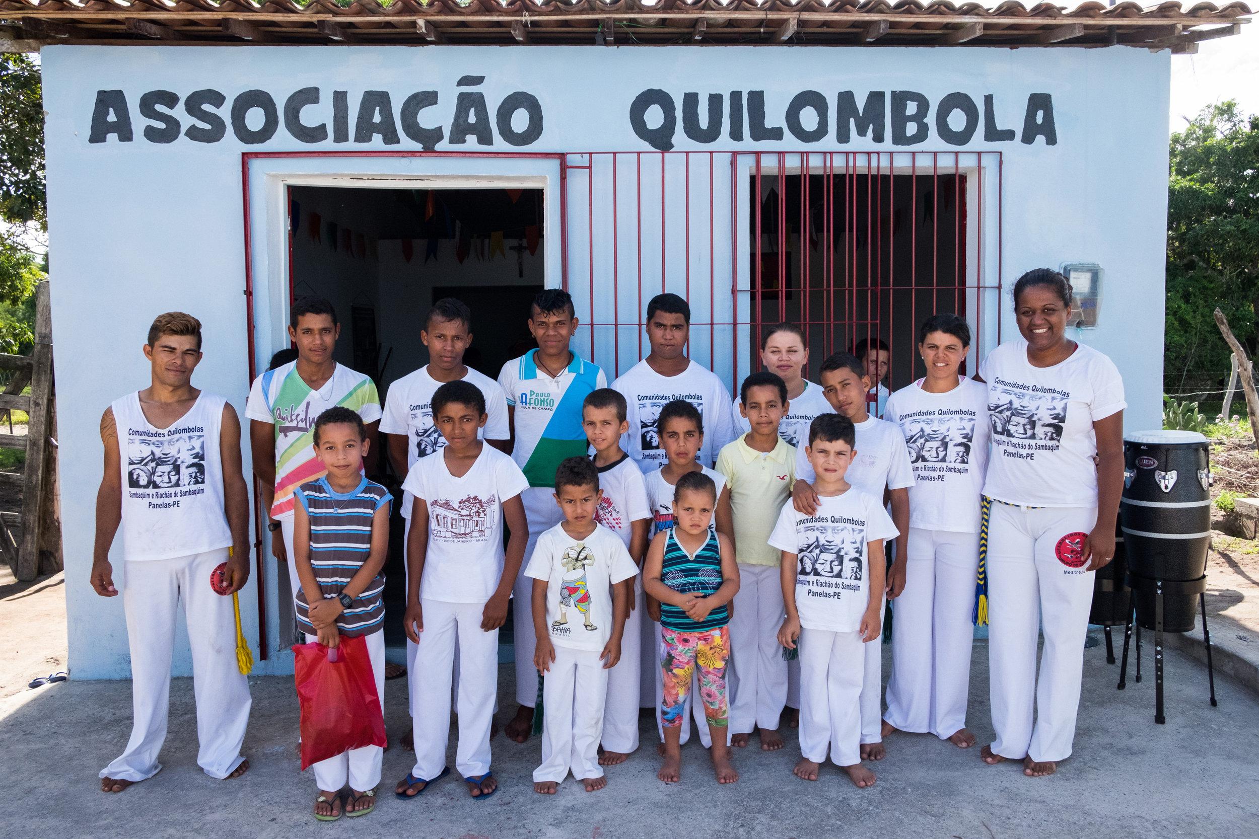 Associação Quilombola, Pau Ferro-PE, 2016