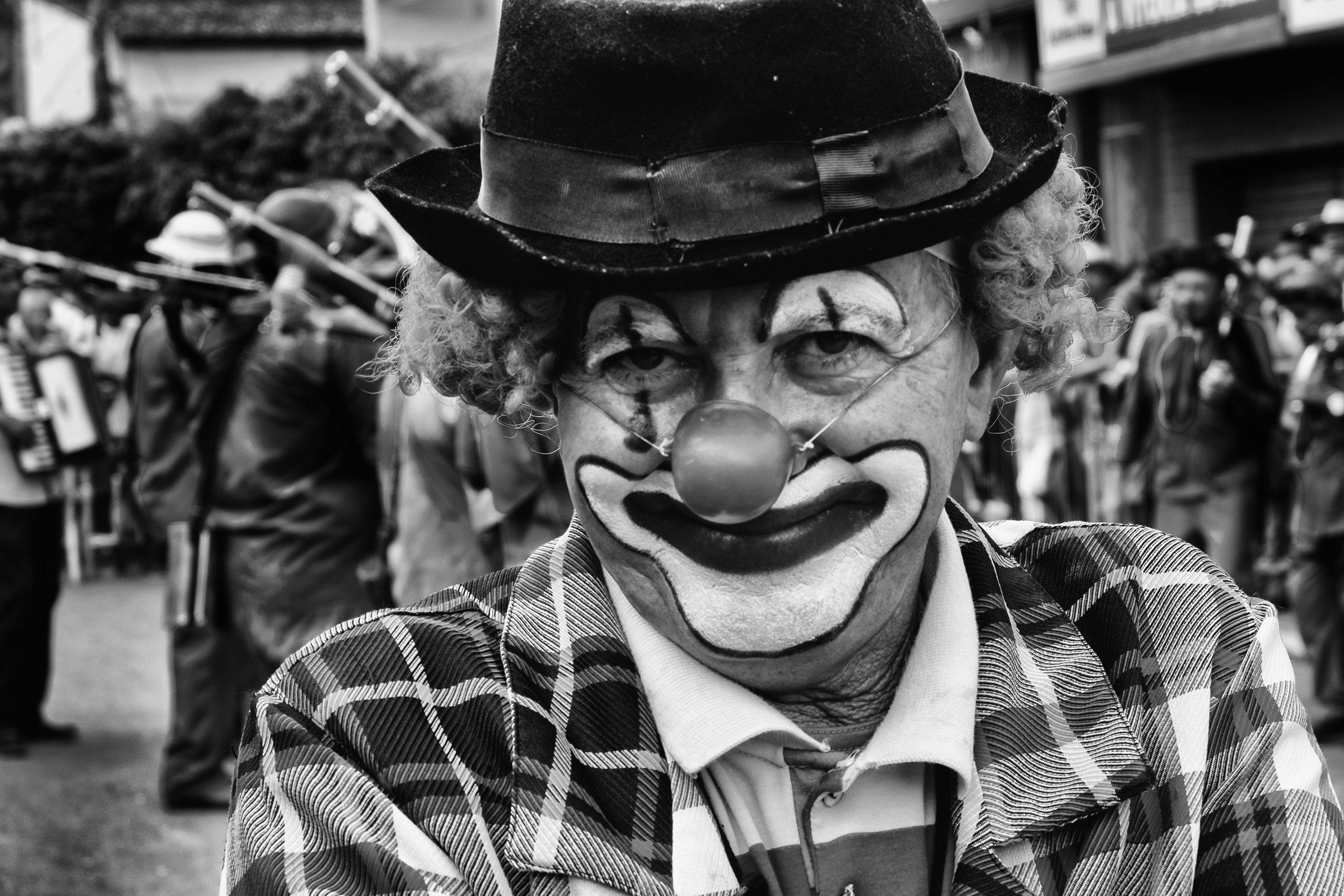 Agrestino Clown, Pau Ferro-PE, 2016