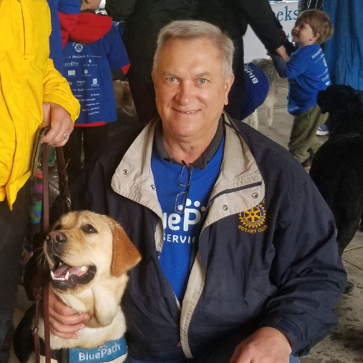 John and Evie at BluePath's 2018 Walkathon.