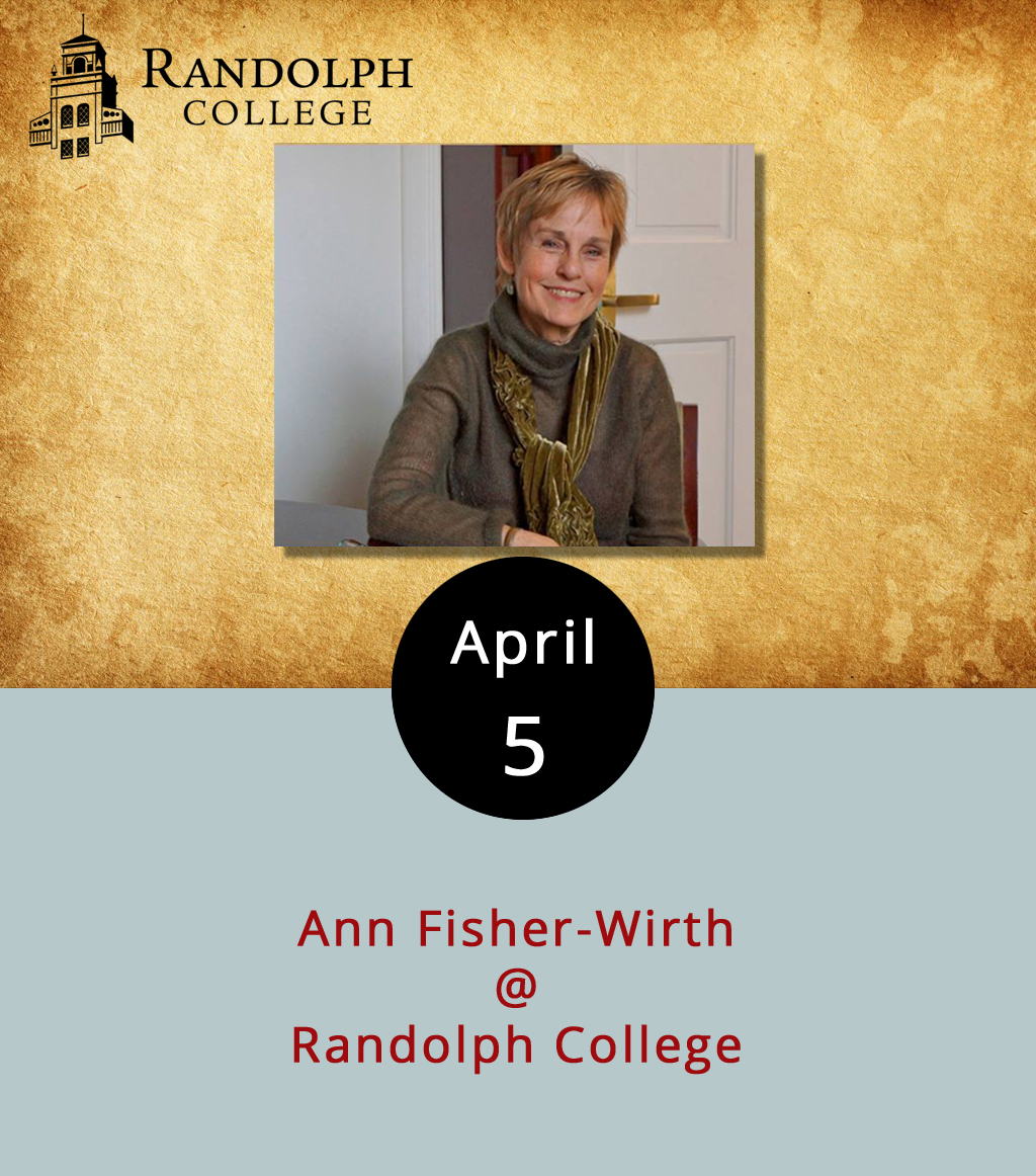 Anne Spencer, Harlem Renaissance poet and civil rights activist, was a staple of Lynchburg's literary life. Ann Fisher-Wirth has the honor of being the Anne Spencer Poet-in-Residence at Randolph College this semester, which means that she, like Spencer, writes poetry that engages with and challenges the world around her. Tonight she's gearing up for the final reading in the school's  Visiting Writers Series . Her main gig is at the University of Mississippi, where she teaches literature and environmental studies. In fact, she co-edited  The Ecopoetry Anthology  with Randolph professor and poet Laura-Gray Street in 2013. So, it's a good bet there will be some ecologically minded words on the menu at the reading, which starts at 8 p.m. in the Ashley Jack Lounge at Smith Hall (2500 Rivermont Ave.). It's free and open to the public; call (434) 947-8000 for more info, or click  here .