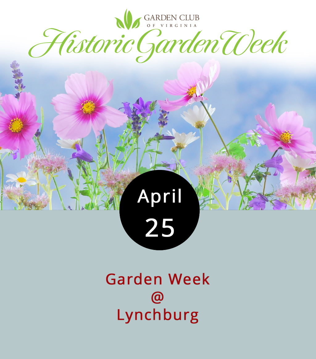 """With April showers come May flowers, or something like that. Of course, those flowers don't just wait around for May 1st to start blooming. The Garden Club of Virginia has been taking advantage of this widely known horticultural fact since 1929, which makes Garden Week, in their estimation, """"America's Largest Open House,"""" and the """"Oldest Volunteer Tourism Project"""" in the state. Lynchburg's celebration of Garden Week takes place today, with walking tours from 10 a.m.-5 p.m. Tickets are $25 in advance, and $30 if you wait til the last minute. View a full tour itinerary  here , and click  here for tickets. You can also email  lynchburg@vagardenweek.org for more info."""