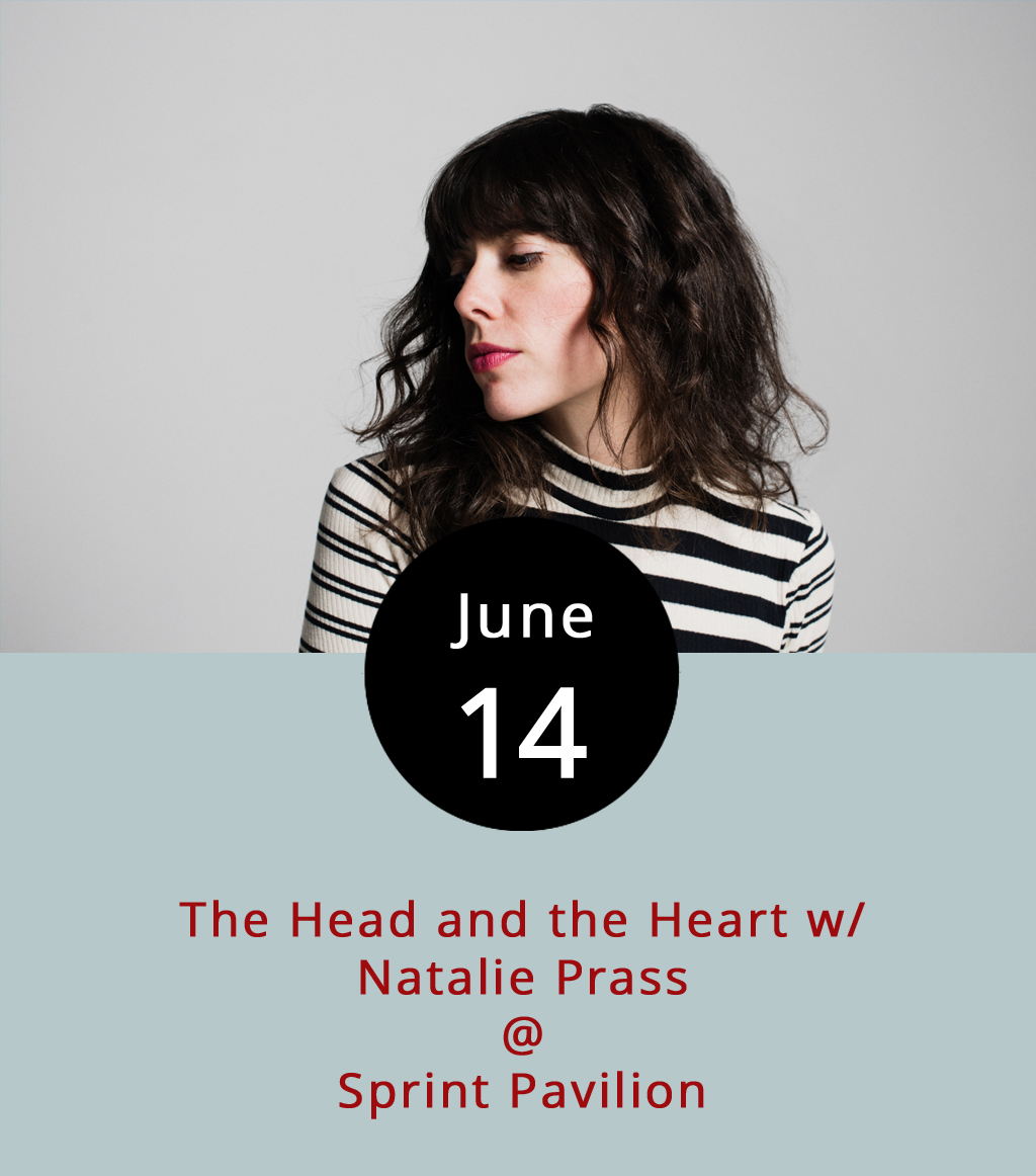 "It's a big little indie-rock double bill tonight at the Sprint Pavilion (700 East Main St.), right on the downtown mall in Charlottesville. The Head and the Heart are headlining in support of their latest album, last year's  Signs of Light , and their recent alterna-hit ""All We Ever Knew."" Natalie Prass will have the honor of opening, shortly after the gates at 6 p.m. Prass' self-titled 2015 debut got major kudos from  Pitchfork  and made their list of best new albums that year. Tickets are $36, and available  here . One dollar from every ticket goes to benefit ACLU and Planned Parenthood. Call (434) 245-4910 for more info."