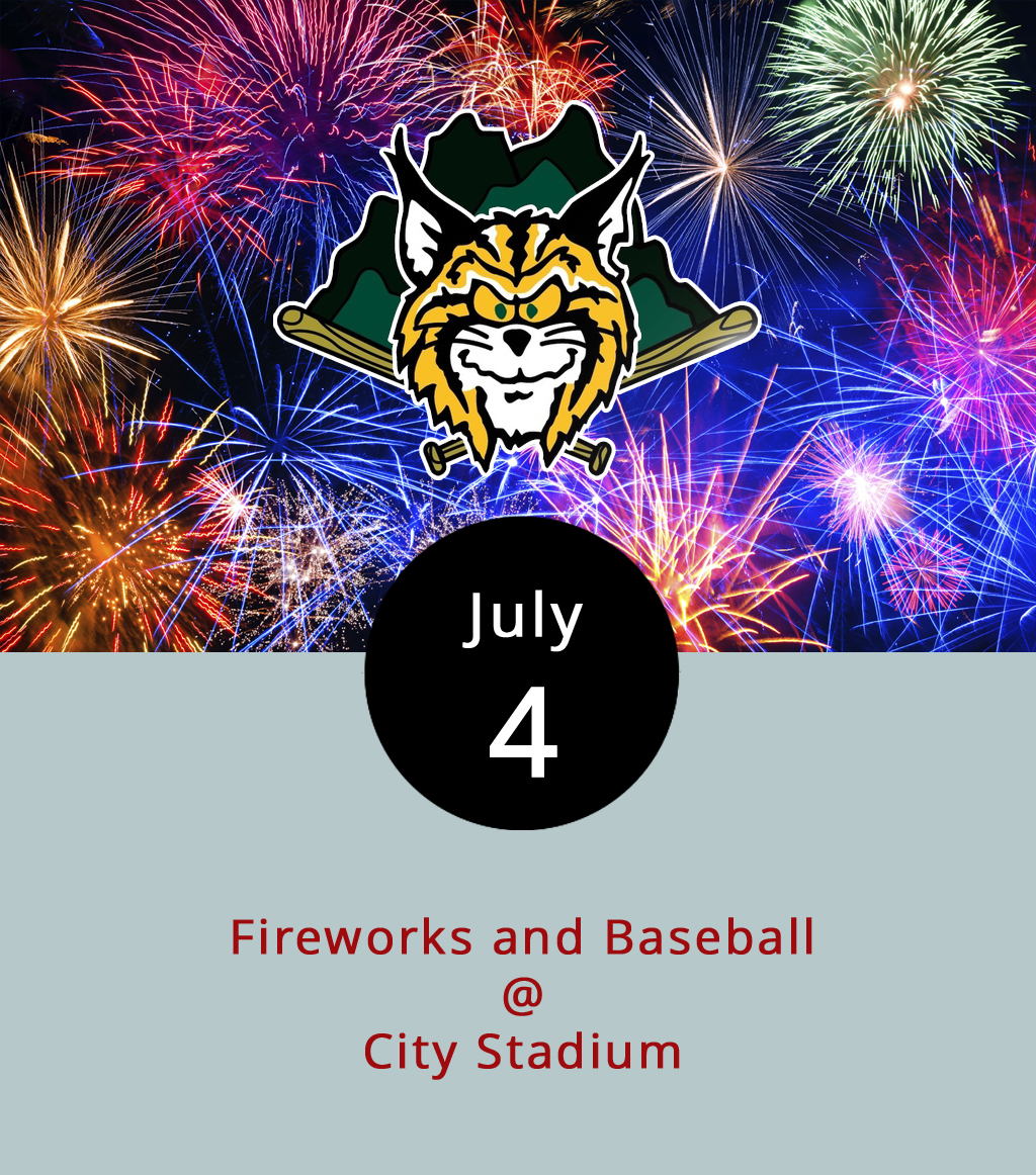 Fireworks over City Stadium (3176 Fort Ave.) are a fairly typical sight during Hillcats season. But tonight it'll be a little extra special. The Hillcats, who have been neck-and-neck with the Salem Red Sox at the top of the Carolina League Northern division of late, play the Wilmington Blue Rocks at 6:30 p.m. It's the start of a six-game home stand that'll include three games against Salem. Gates open at 5 p.m., tickets are $6 for the bleachers and $9 for the reserved sections. Fireworks commence right after the game. Click  here  for tickets, or call (434) 528-1144.