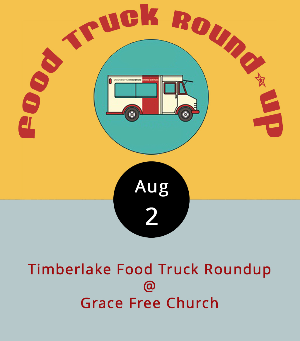 Dinner's on, as they say, in the lot outside of Grace Evangelical Free Church (21129 Timberlake Rd.) this evening, and there are quite a few options on the menu. It's a food truck round-up, featuring tacos, barbecue, gryos, and more. The trucks will be serving from 5-9 p.m., and there will be plenty of space for picnic blankets and lawn/camping chairs. The trucks scheduled to be on hand include  Taco Shark ,  Action Gyro ,  Earl's Carolina BBQ ,  Nomad Coffee Co . and  Appetite Creamery . The event is rain or shine, but will likely be rescheduled in case of severe weather. For updates, click  here .