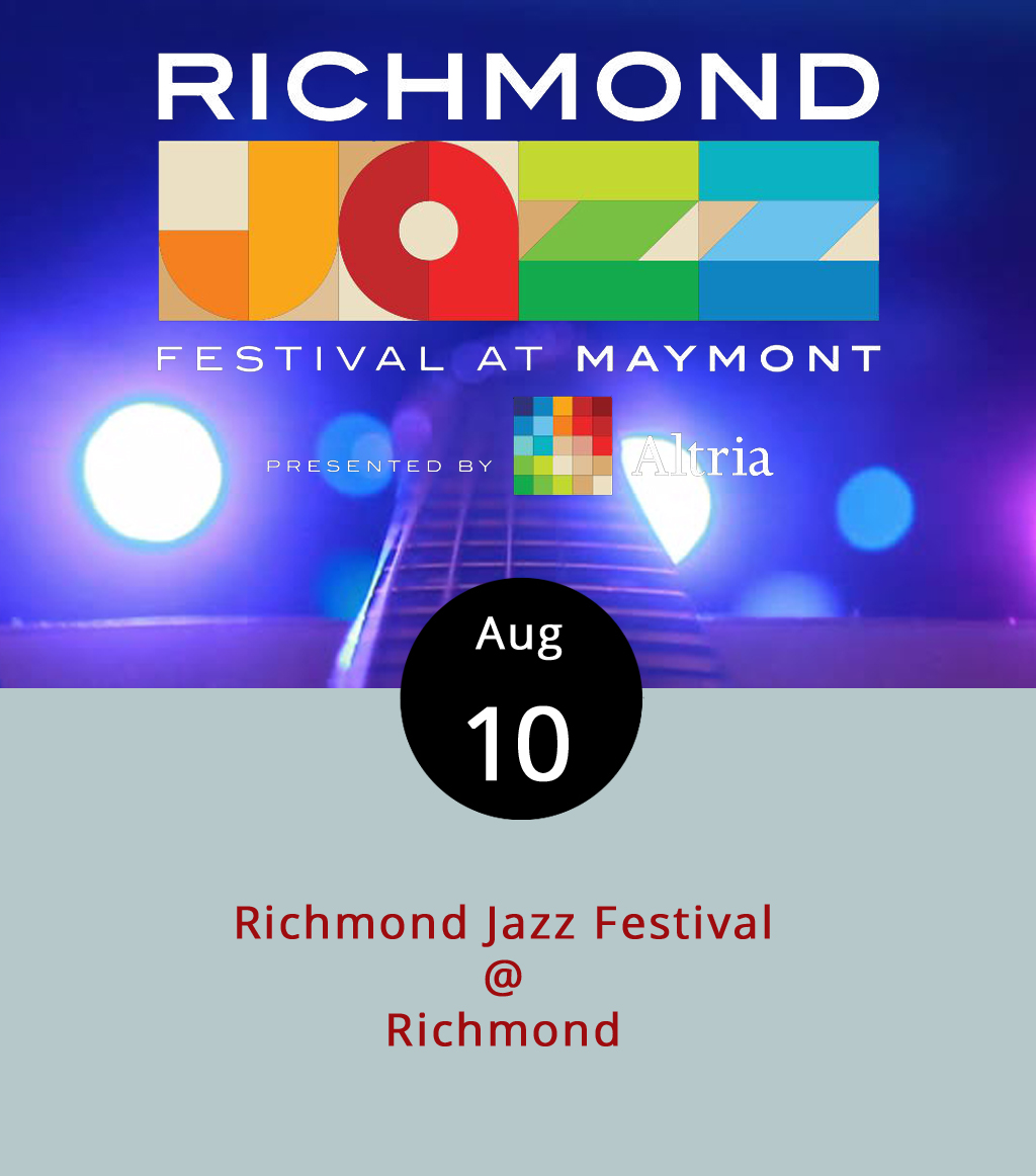 We're just going to float a few names that may or may not be familiar: Erykah Badu; the Isley Brothers; Pat Metheny; and Common. Those are some of the featured artists at this year's Richmond Jazz Festival at Maymont, which takes over several venues in Richmond for this weekend. There are several Thursday and Friday night performances, but the big events are happening on Saturday and Sunday on the grounds of the 19th-centry Maymont estate (1700 Hampton St.). Gates at Maymont open at 11 a.m. for 12 full hours of music on three stages on Saturday and Sunday. Highlights include bluesmen Taj Mahal and Kev' Mo' on Saturday at 5:30, and rapper Common with the Richmond Symphony later that evening at 9 p.m.; bluesman Robert Cray on Sunday at 5:15 p.m.; and staggered closing sets by Erykah Badu, the Isley Brothers, and Afro-Cuban All-Stars later that evening. Tickets on Saturday and Sunday are $97.26 each, or you can grab a two-day pass for $184.16. For ticketing, a complete schedule of performers, directions, and more venue information, click  here .