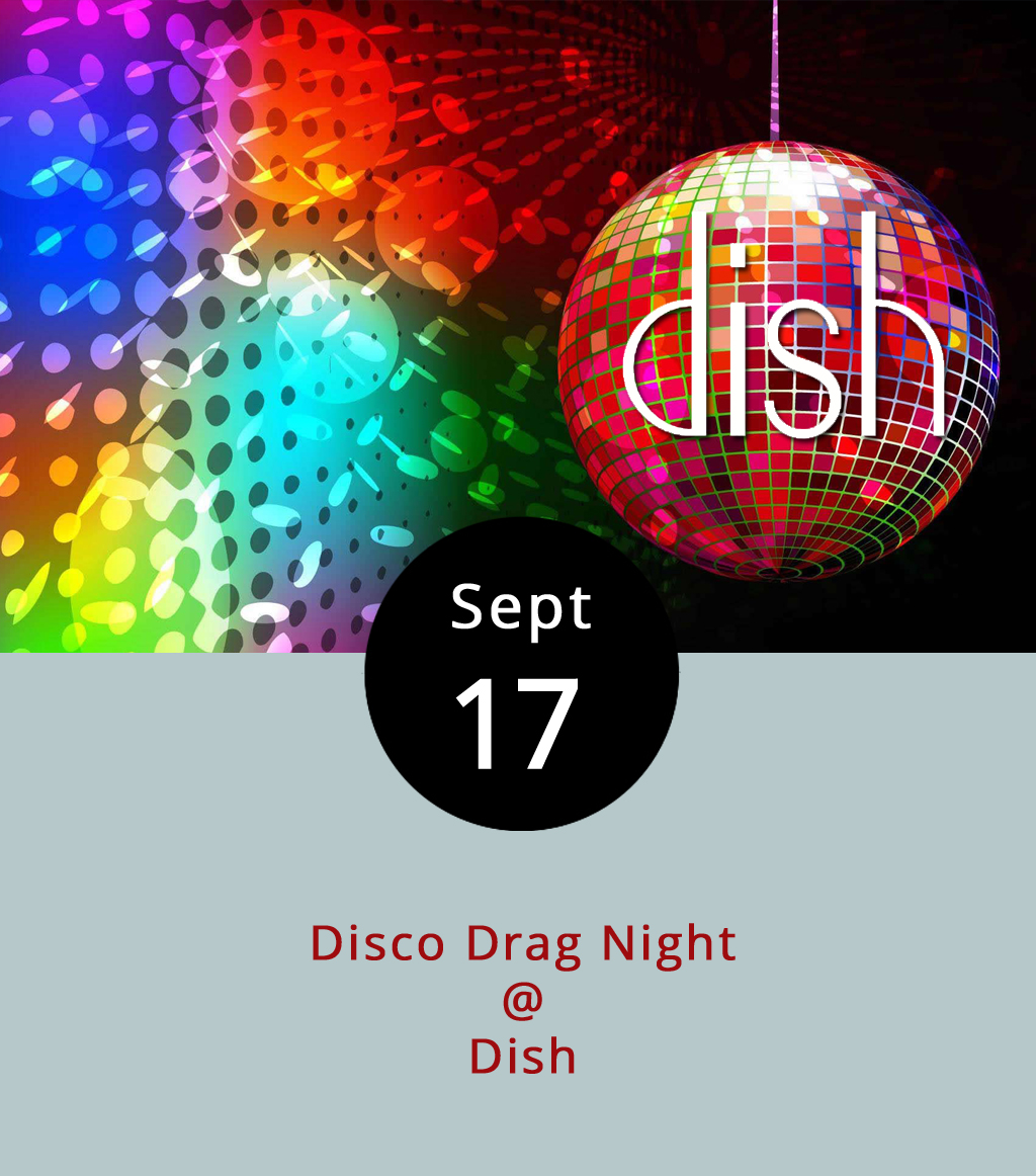 Disco hits, drag performers, and pro-diversity attitudes. That's what's in store tonight at Dish (1120 Main St.), when the Lynchburg Diversity Center hosts a Disco Drag Night. The evening will feature a DJ, local and Roanoke-area drag performers, and some food and drink specials that have yet to be determined. The $5 cover will benefit the Center, which promotes inclusion and respect for LGBTQ+ individuals through cultural change. Click here to see the Dish  menu , or call (434) 528-0070. To find out more about the Diversity Center, click  here .