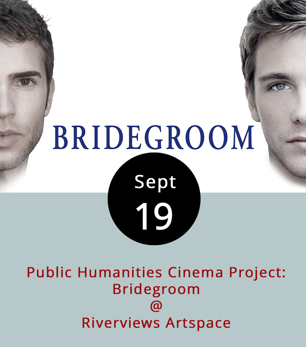 When Shane Bitney Crone's longtime partner Tom Bridegroom passed away, the latter's biological family took over and denied Crone from coming to his partner's funeral, an experience documented in  Bridegroom  (2013). The struggle represents the experiences of many in the LGBTQ+ community before the US Supreme Court's landmark decision in 2015 to prevent discrimination among marriages between consensual adults. The documentary screens tonight at Riverviews Artspace (901 Jefferson St.) by the Lynchburg Diversity Center and will include a discussion around the film's social context. The Public Humanities Cinema Project is part of the Center's ongoing effort to build community and promote inclusion and respect for LGBTQ+ individuals through cultural change. Doors open at 6:30 p.m. The event is free to the public and a cash bar is available. For more information, click  here or contact the Diversity Center at (434) 515-1143.