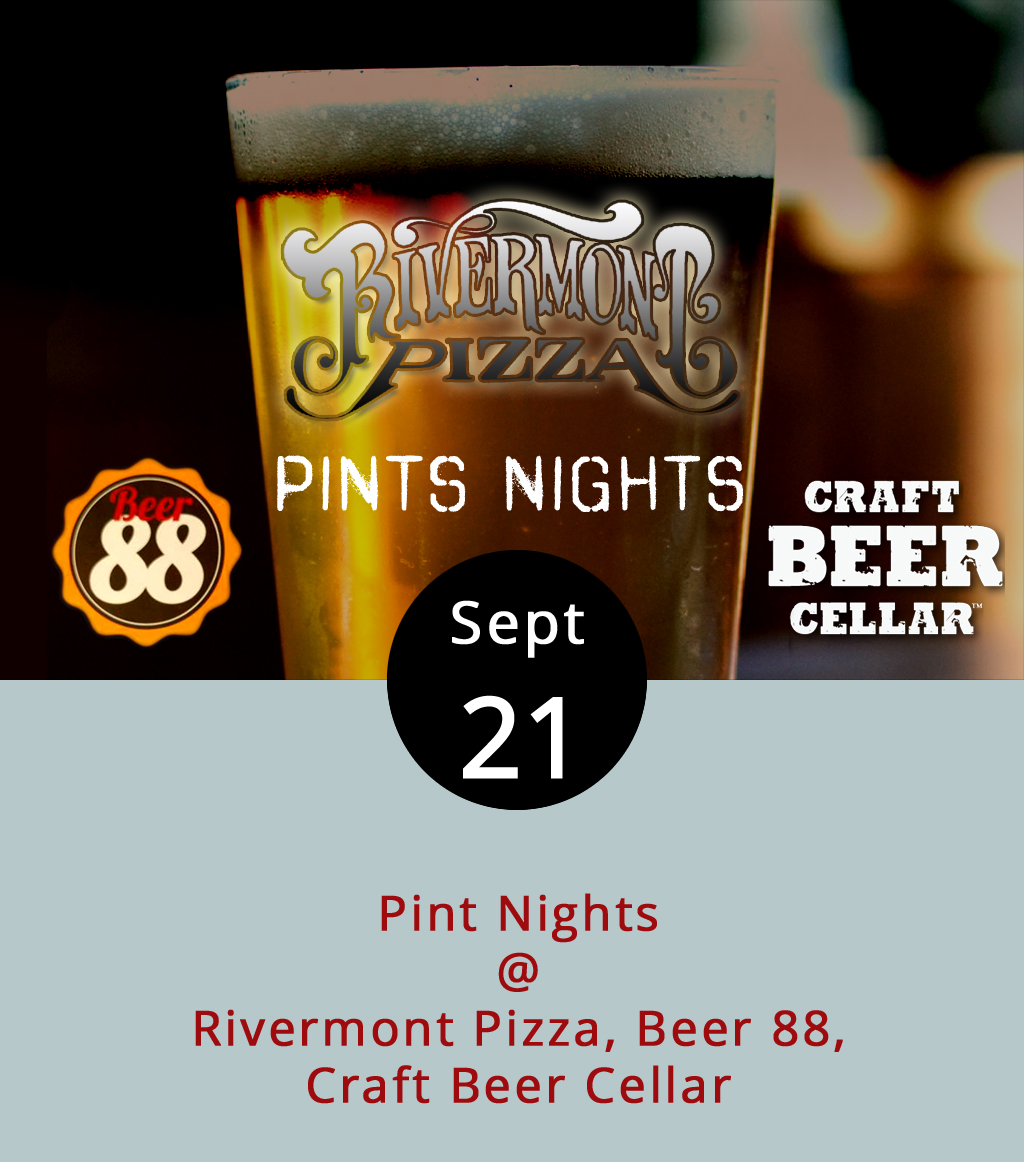 On most Thursdays, craft beer afficianados can take a deep dive into a selection of crafted brews from a particular brewery at at least one local establishment. If you're lucky, you might even score some free branded glassware at these tap takeovers and steal-the-pint nights. On the docket today, we've got not one, not two, but three of these events in and around town. Beer 88 (113 Hexham Dr.) will have six beers from  Port City Brewing Co.  out of Alexandria on tap, as well as Port City pint glasses for the taking. Starting at 5 p.m., they'll feature Port City's Oktoberfest, Oscura, Dark Mexican Lager, Derecho Common, Integral IPA, Port City Porter, and Colossal 6 Russian Imperial Stout. Call Beer 88 at (434) 582-5025 or click  here . At Rivermont Pizza (2496 Rivermont Ave.) from 5-11 p.m., the taps will be flowing with several libations from  Brothers Craft Brewing  in Harrisonburg, inclduing their limited edition Multiplayer, a double IPA brewed in collaboration with Richmond's Triple Crossing Brewing Co. Call RP at (434) 846-2877. Finally, Craft Beer Cellar (3813 Wards Rd. #6) will keep the focus narrow, with a targeted tasting of  Parkway Brewery 's Save the Galaxy IPA from 5-8 p.m. Call the store at (434) 386-8363 or click here.