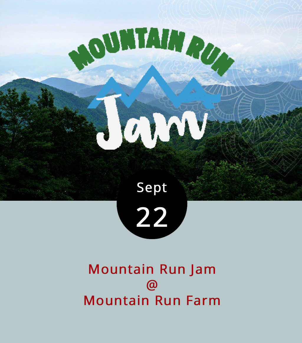 The seventh annaul Moutain Run Jam festival takes over Sedalia'a Mountain Run Farm (1228 Charlemont Rd.) for a weekend of back-to-nature fun and rootsy music. The farm features ponds, creeks, and lovely mountain views. The festival kicks off with aceremonial tree planting today at 3 p.m., followed by a potluck dinner, and performances by Baltimore's Brothers Gorman and North Carolina's newgrassy Coddle Creek. Saturday begins with yoga at 8:30 a.m., a wild food and medicine plant walk at 10 a.m., a solo set by Michigan singer-songwriter Katelyn Georgianna Vallier, and a bunch of other stuff, including evening sets by a band called Band: The Movie, dueling fiddlers Adam DeGraff and Morgan Weidinger, and the bluesy Cole Men. Sunday features afternoon sets by Lynchburg's Good Buddy and Harrisonburg's Dogwood Tales. Camping is available on site, and bathing in the creeks and ponds is totally allowed. Weekend passes may be purchased online in advance for $30, or for $40 at the gate. Day passes are $20, and kids under 16 get in for free. Click  here  for tickets and more info, or call (434) 299-5193.