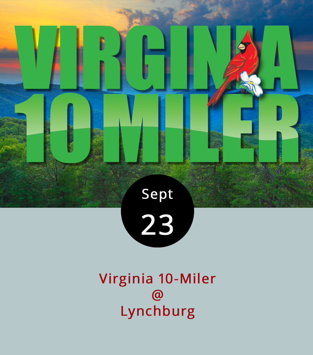 The Virginia 10 Miler – officially the Genworth Virginia 10 Miler – marks its 44th year as the biggest race in town today, and if you live anywhere near the route, it'll be hard to miss. The race begins at 8 a.m. at E.C. Glass High School (2111 Memorial Ave.). It's actually more than just one race. There's the full 10 Miler, which wends its way down Langhorne Rd. to Rivermont Ave., proceeds up into Rivermont Park, and then comes all the way back around to E.C. Glass. There's also a new ten-mile relay race that follows the same route, and a four-mile walk and run that ends at Randolph College. Click  here  to see the route. Registration is $100 for the Ten Miler and $75 for the four-mile run/walk. For more information, click  here . There will be bands along the route at select locations, and the Corner at Rivermont (2496 Rivermont Ave.) will start its Saturday morning brunch service at 7:30 a.m. to accommodate hungry spectators.