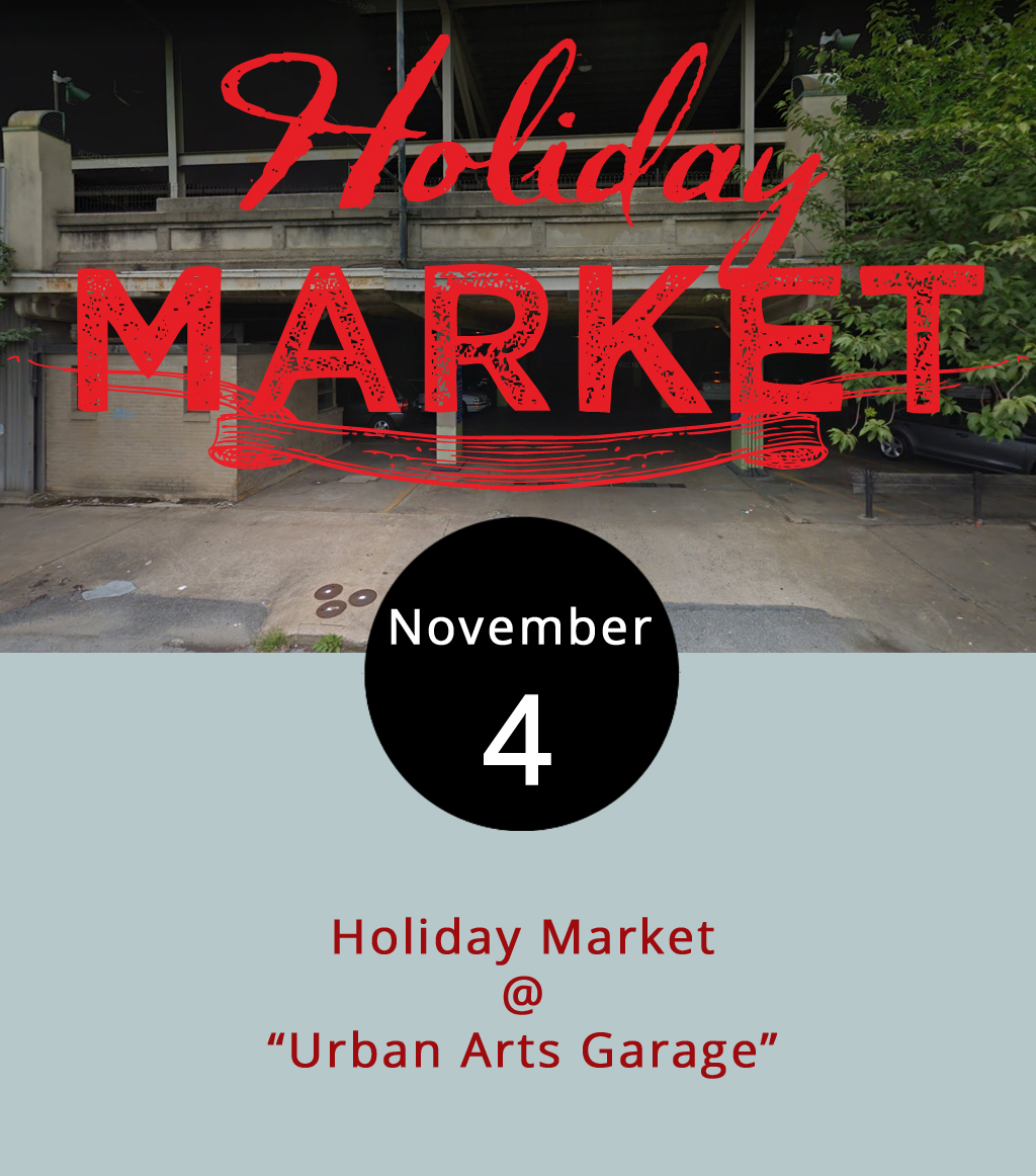 "Wouldn't it be nice to have your Christmas shopping out of the way before Thanksgiving? And what if you could get your family gifts handcrafted by regional artisans? If any of that sounds good or you just like to shop, check out the Holiday Market, hosted by Hill City Handmade today from 9-5 p.m. The event brings more than 90 vendors, including craftspeople and food trucks at the ""Urban Arts Garage"" (1001 Commerce St.)  Here's  a list of vendors associated with the Hill City Handmade, although vendors from elsewhere in Virginia, Maryland, North Carolina and Florida will attend. Early bird shopping  passes  are $10 and allow anyone to get in from 9-11 a.m. ahead of the crowd. General Admission begins at 11 a.m and is $3 cash-only at the door. For more information, click  here . Proceeds benefit the nonprofit  Mission Empowerment ."