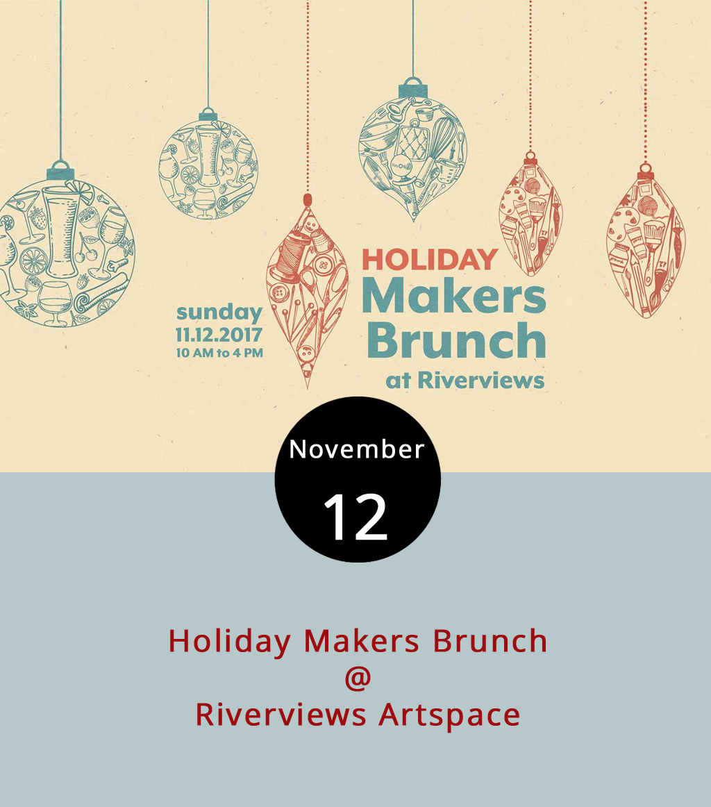 They've got a little bit of everything today at Riverviews Artspace (901 Jefferson St.) for the Holiday Makers Brunch. While shopping for Virginia-handmade artisan crafts (a perfect Christmas present for our fellow locavores), be entertained by live jazz music in the Craddock-Terry Gallery or by the Redskins and Vikings at 1 p.m. in the Rosel H. Schewel Theatre. Oh, and there's a buffet brunch provided by White Hart Cafe for $10, served alongside pay-per-drink mimosas, breakfast cocktails and craft beer. Pets are also invited to take pics with the Lynchburg Humane Society Santa. The event is 10 a.m. to 4 p.m., and tickets are $3 at the door. For more information, click  here  or call (434) 847-7277.