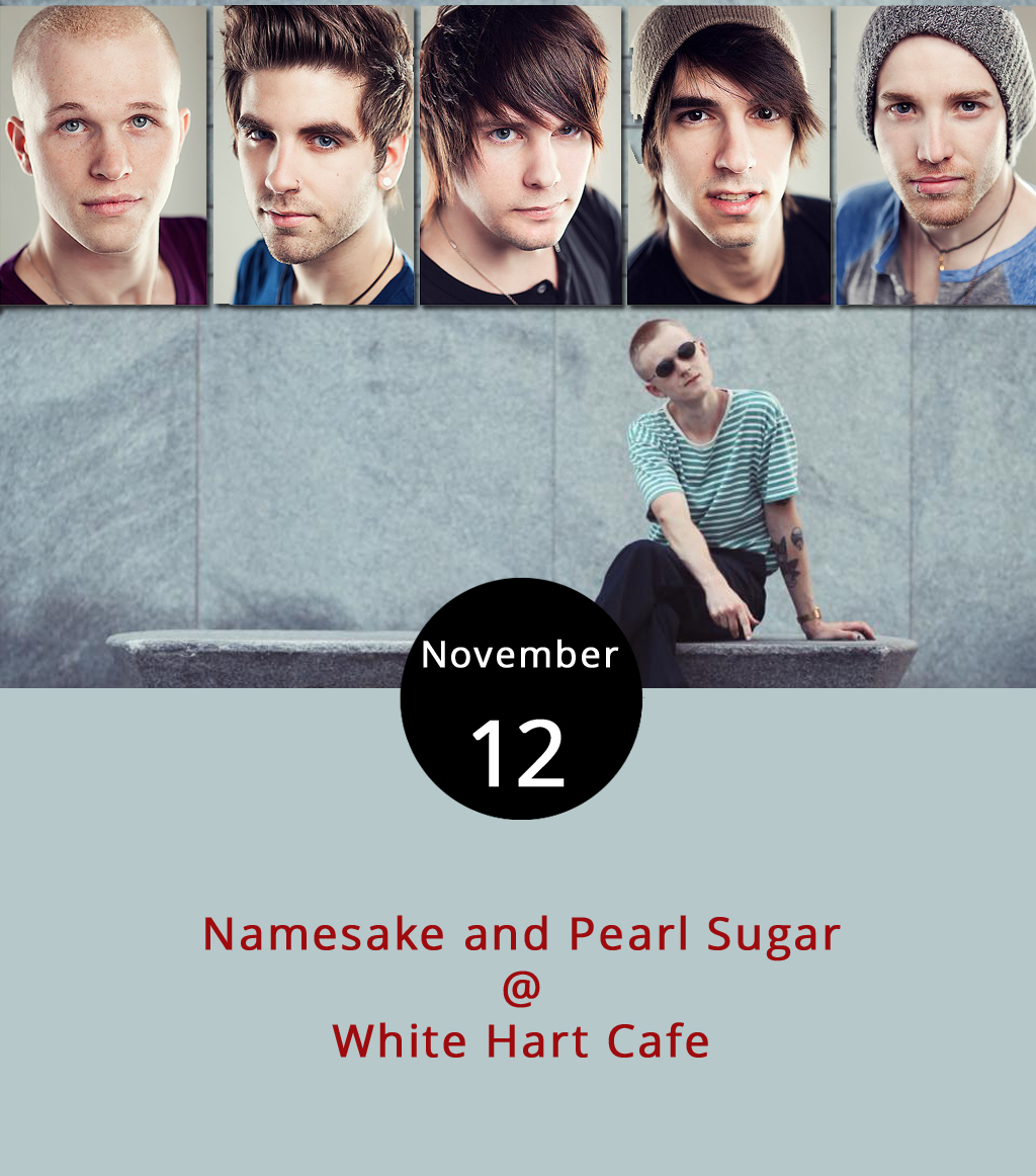"A couple of bands on tour from Connecticut will stop by White Hart Cafe (1208 Main St.) tonight, offering an entertaining wind down after the weekend. Namesake is an indie folk band that describes its music as ""rock and roll and lullabies,"" an appropriate description for some of their songs, including "" Fight the Ocean ."" Pearl Sugar describes its style as synth pop, an electronic style exhibited on "" Lock You Up ."" The show is from 6-8 p.m. The cafe attracts a college crowd, so it won't be unusual to see individuals deep in thick literature or study groups with laptops propped open. They're open until 9 p.m., and a selection of menu items is available,  here , although their selection is more robust and includes baked goods. For more information about the event, click  here  or call (434) 207-5600."