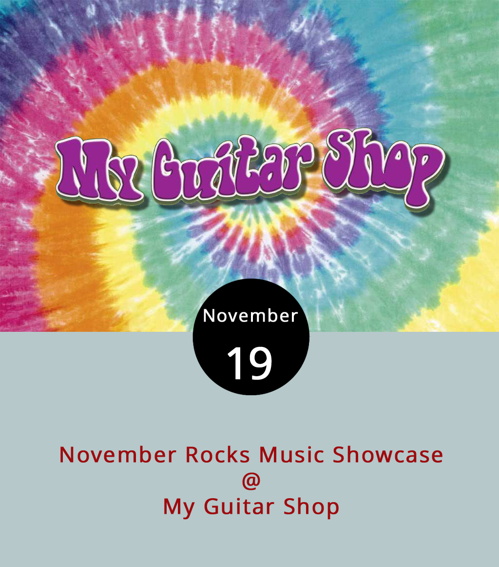 Today won't be a normal quiet Sunday afternoon as My Guitar Shop (4529 S. Amherst Hwy., Madison Heights) hosts the November Rocks Music Showcase. Starting at 1 p.m., the event features six local bands rocking past sundown. The event is free and features Borderline Taboo, Super Dudes, Hyperflesh, Thikhead, Trenchfoot and Mourn the Illusion playing their sets in that order about an hour at a time through 7 p.m. There's also a $10-per ticket raffle to win an Orange Dark Terror amplifier. For more information and updates, click  here  or call .(434) 534-7110.
