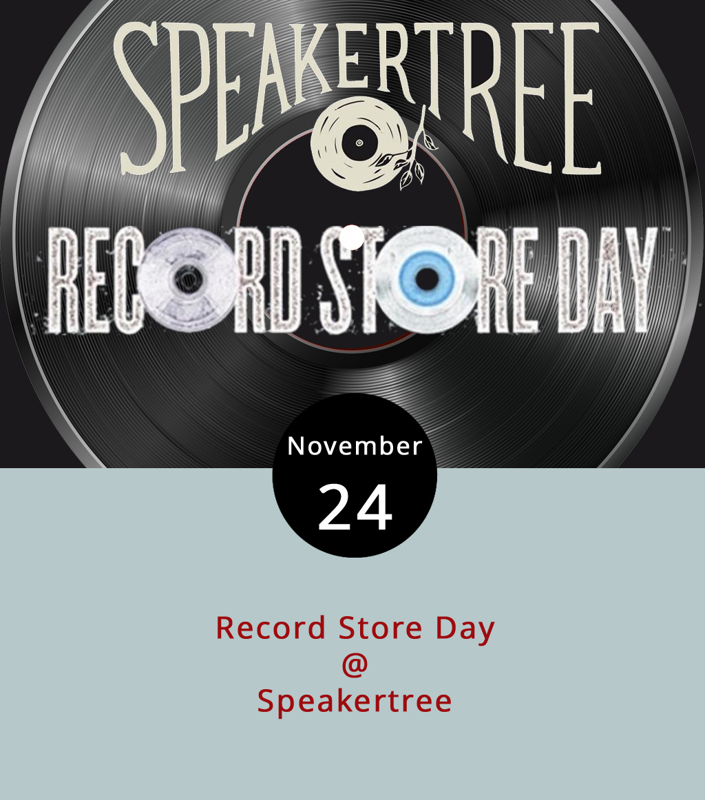 While the focus for Black Friday is usually on the chain stores who price down electronics and other expensive items encouraging consumers to line up and dash madly as doors burst open, there's another way. Check out Speakertree (901 Jefferson St.) for the Black Friday edition of Record Store Day, which started in 2008 to celebrate and promote independently owned music shops and the culture they facilitate. Speakertree seems to be stocking up for the holidays by adding at least 1,500 new and used albums, Speakertree expects to have some special vinyl that day, but can't give specifics because of Record Store Day rules, according to the Speakertree Facebook  page .. The event is from 8 a.m. to 7 p.m. For more information, click  here  or call (919) 830-0988.