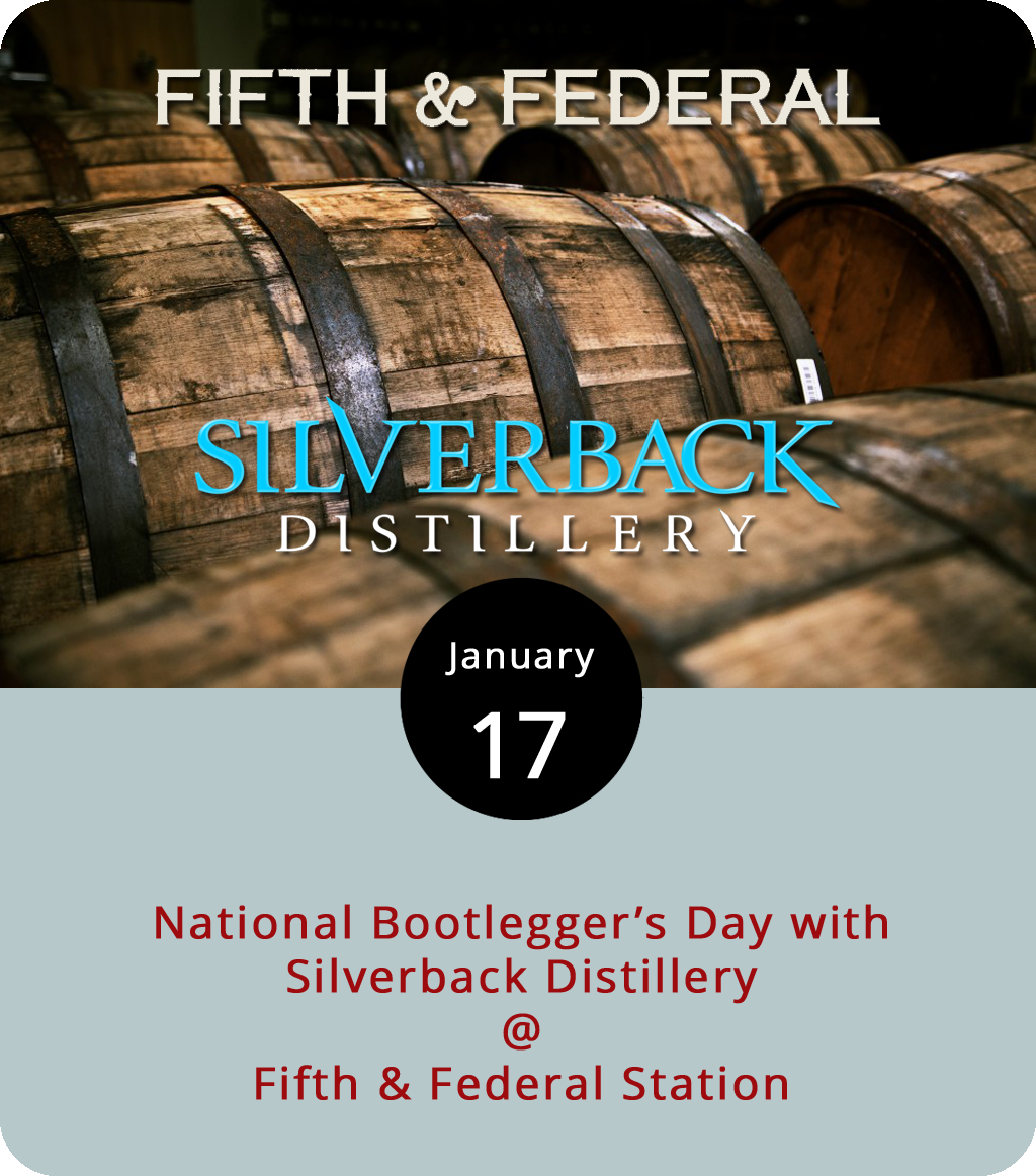 It may seem odd to commemorate a notorious gangster, but we like to think of National Bootlegger's Day as a celebration of civil disobedience in the face of state tyranny, or something like that. It's actually the birthday of Chicago's notoriously sadistic booze boss Al Capone, but let's go with it. Fifth & Federal Station (801 Fifth St.) and Silverback Distillery are teaming up to mark the day by serving fine whiskey. Silverback products will be featured all evening, starting at 6 p.m., and there will be branded shot glasses from the Nelson County distiller available as well. The Moonshine Music Makers perform from 8-11 p.m. For more information, click  here or call (434) 386-8113.