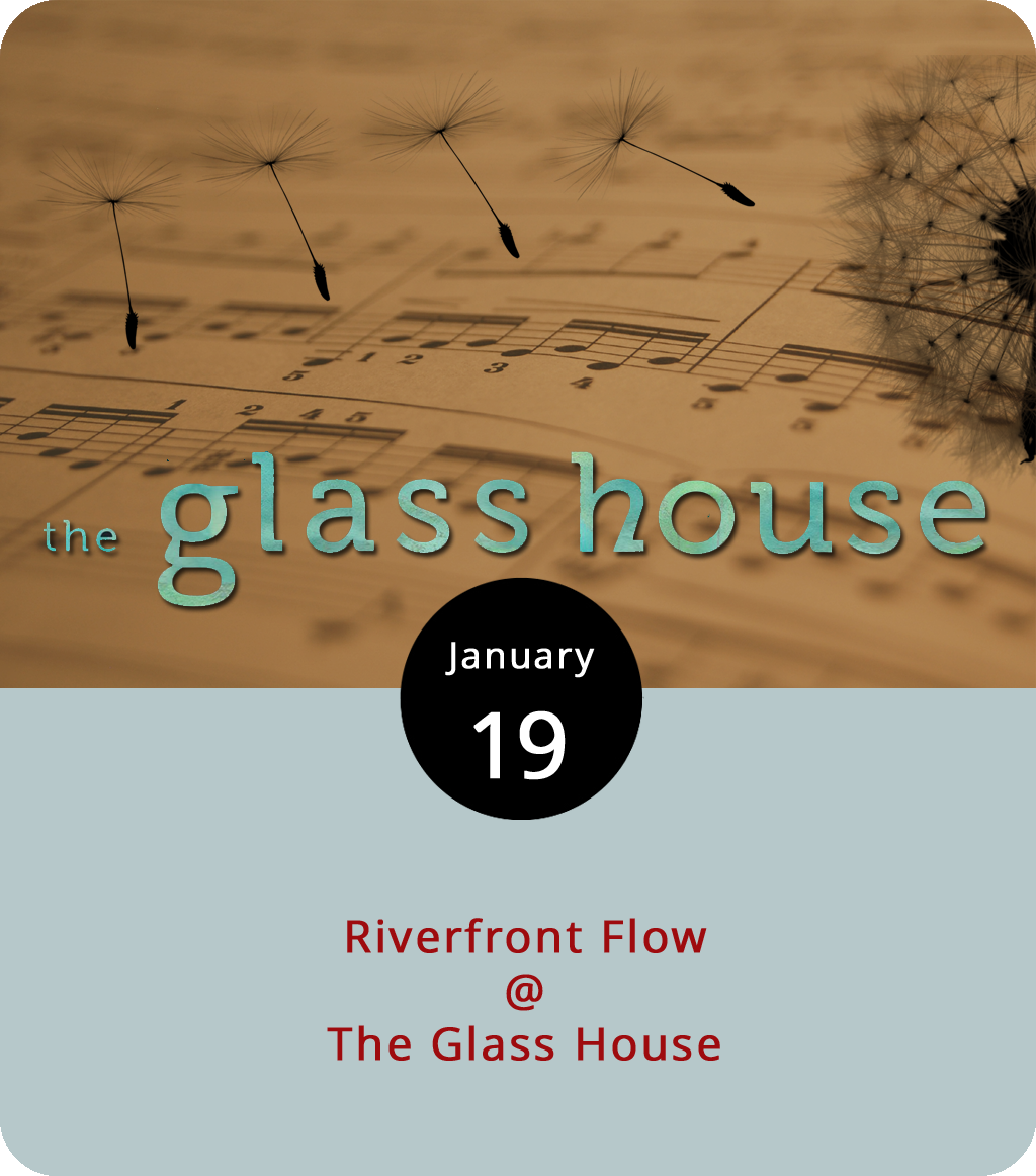 """While the James rolls along in the dark this evening, the Glass House (1019 Jefferson St.) will host another kind of flow – the Riverfront Flow. The event is a mish-mash of various types of artistic expression, including an open mic, local poets, and music by  Jen Tal and the Huzband , who perform """"neo soul"""" covers and originals. Tickets are $10 in advance or $15 at the door. For more information or updates about the event, click  here or call (434) 258-0600 or (434) 426-4662."""