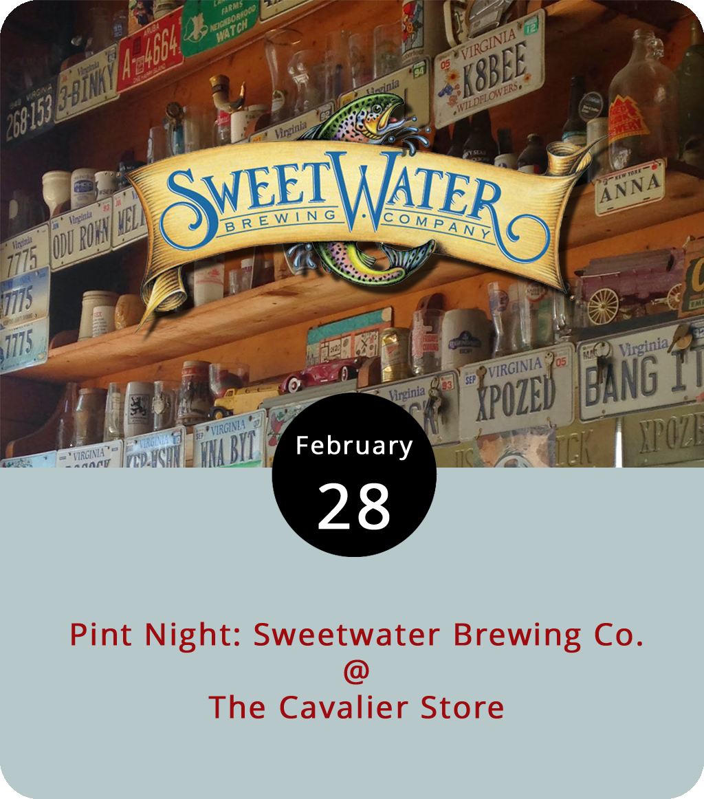 What do a magazine editor and a professional keyboardist know about brewing fine craft beer? We're not exactly sure, but  Relix magazine's Dean Budnick and Kyle Hollingsworth of the jammy band String Cheese Incident got together with Atlanta's  SweetWater Brewing Co . to concoct Ground Source IPA for the brewer's annual SweetWater 420 fest. The Cavalier Store (2920 Rivermont Ave.) will feature the 7.1% ABV brew along with others from SweetWater tonight as the bar hosts a steal the pint night starting at 5 p.m. It's a rare event for the Cav, and we're going to recommend an order of fries with season salt and ranch dressing to go along with that brew. For more information, click  here or call (434) 845-3837.